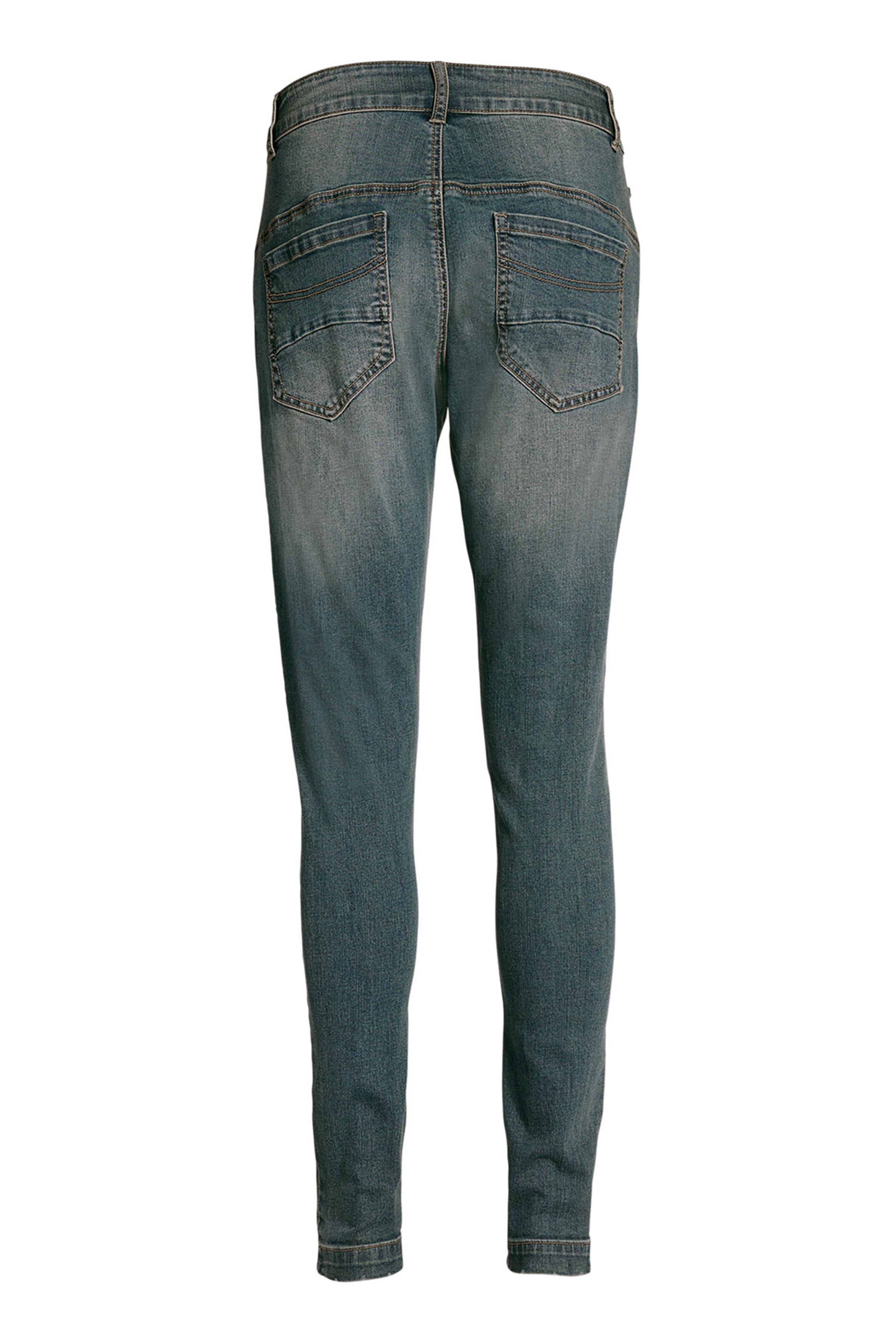 Denimblå Jeans fra Bon'A Parte – Køb Denimblå Jeans fra str. 34-54 her