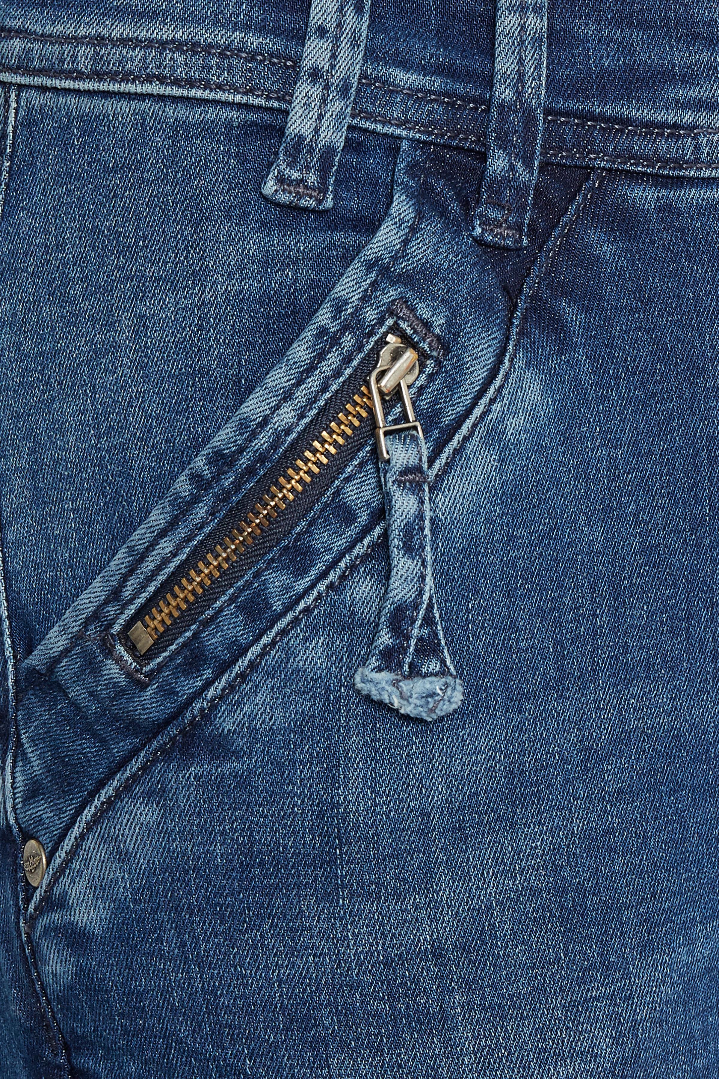 Denimblå Jeans från Denim Hunter – Köp Denimblå Jeans från stl. 25-35 här
