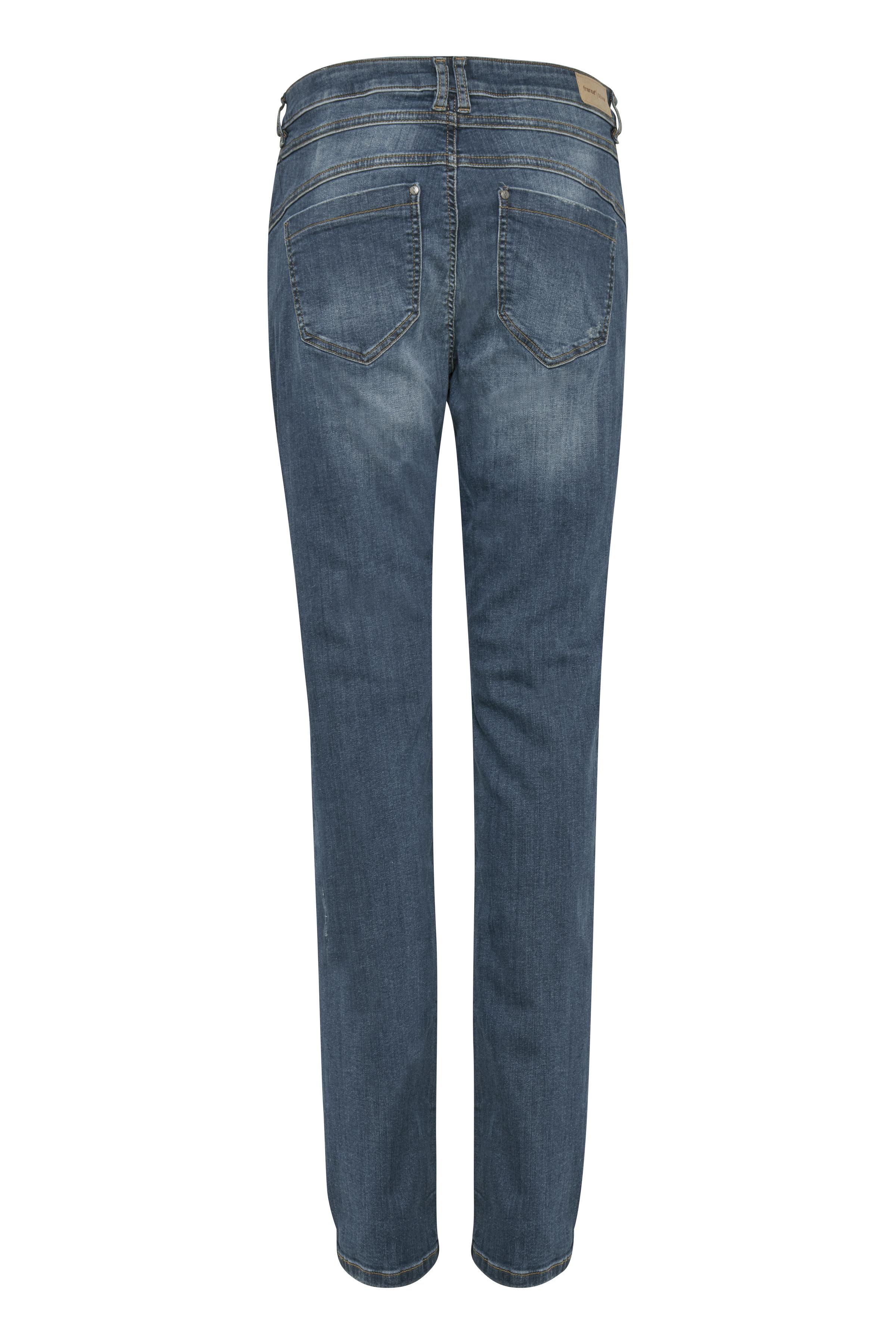 Denimblå Jeans fra Fransa – Køb Denimblå Jeans fra str. 32-46 her