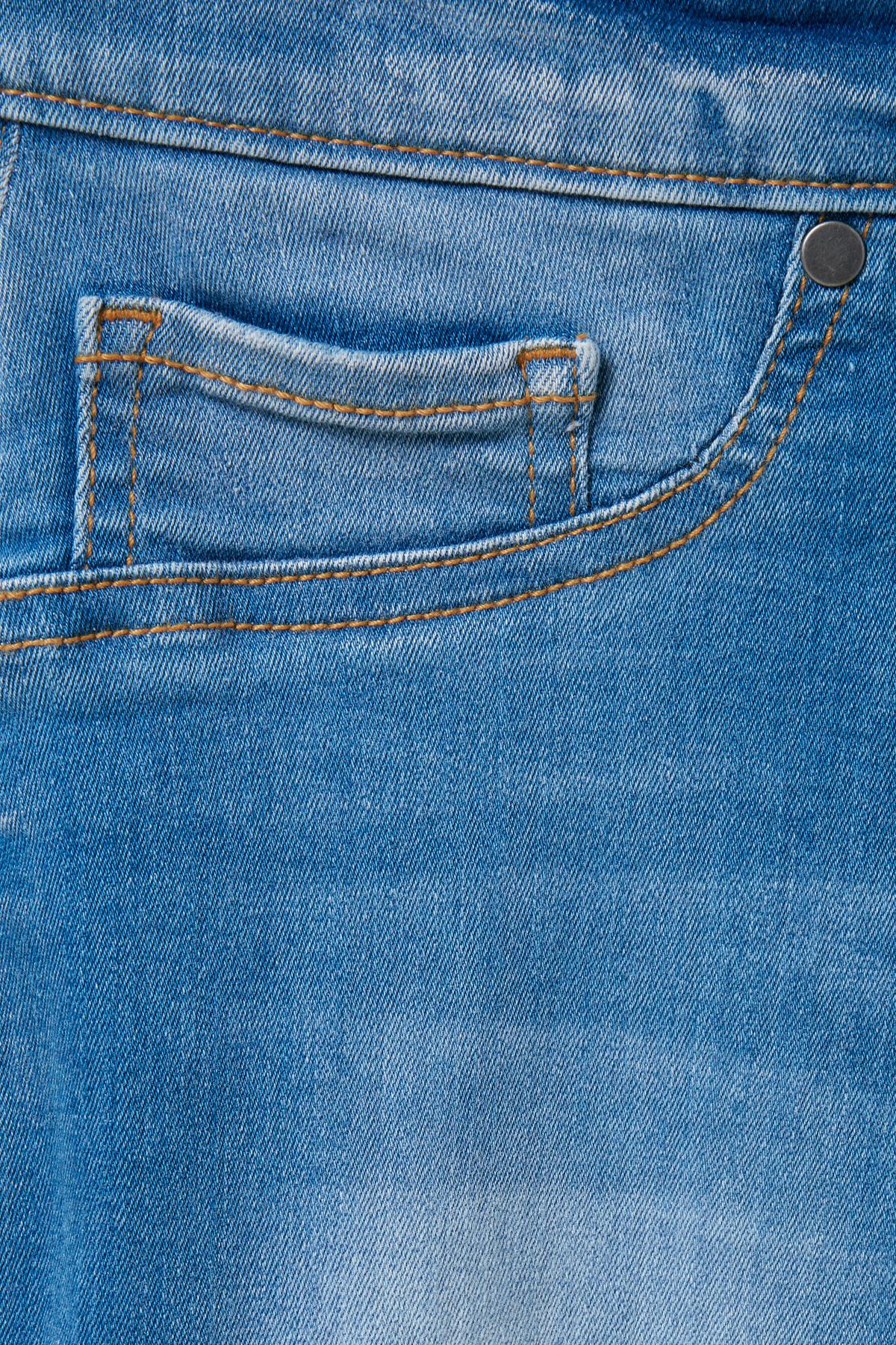 Denimblå Jeans fra Pulz Jeans – Køb Denimblå Jeans fra str. 25-34 her