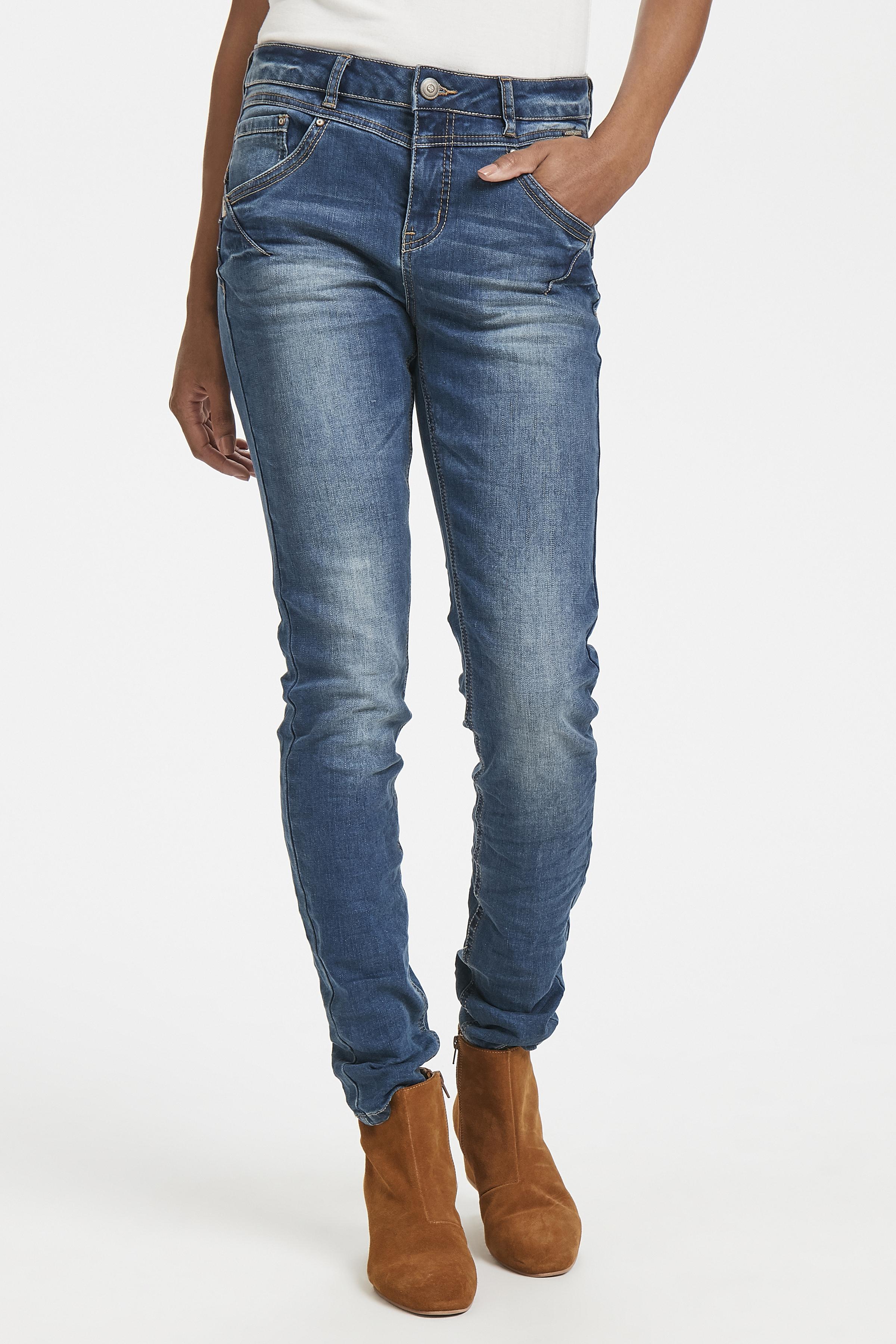 Denimblå Jeans fra Cream – Køb Denimblå Jeans fra str. 24-34 her