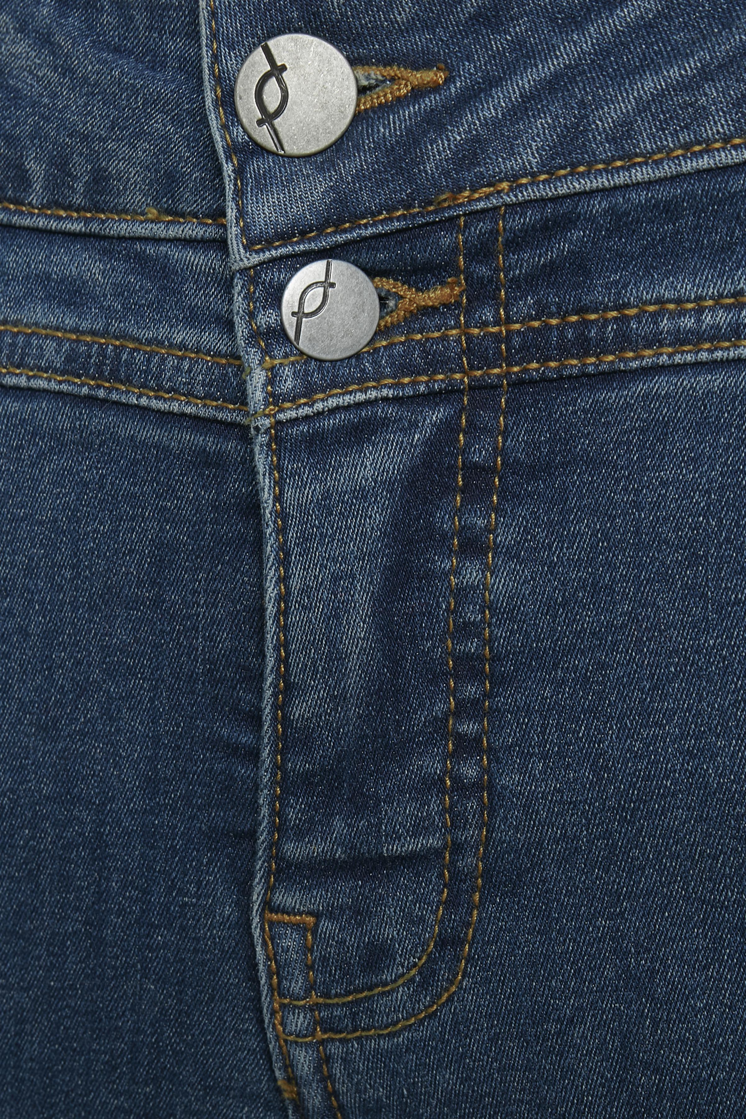 Denimblau Denimhose von Fransa – Shoppen Sie Denimblau Denimhose ab Gr. 32-46 hier