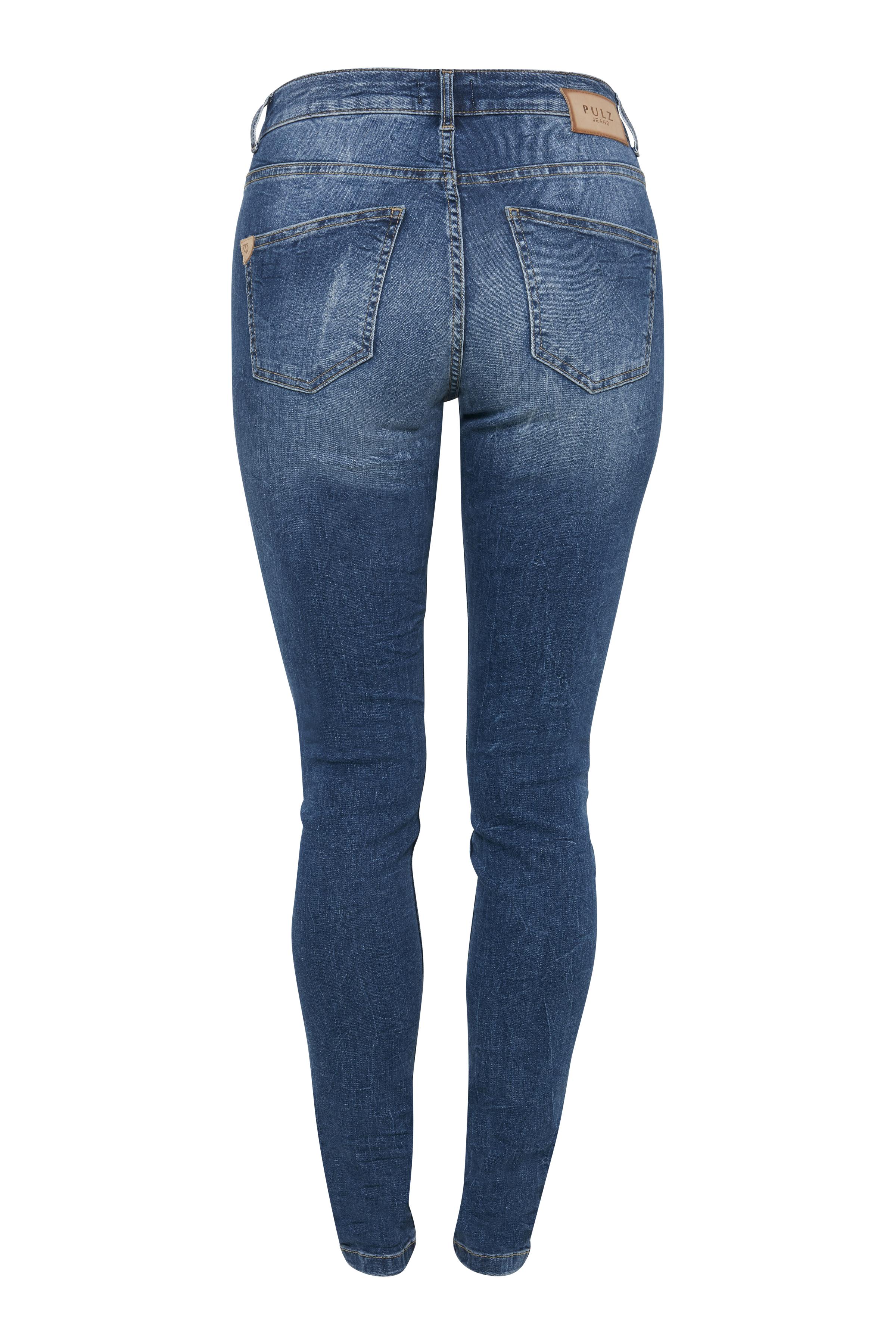 Denimblau Jeans von Pulz Jeans – Shoppen Sie Denimblau Jeans ab Gr. 25-36 hier