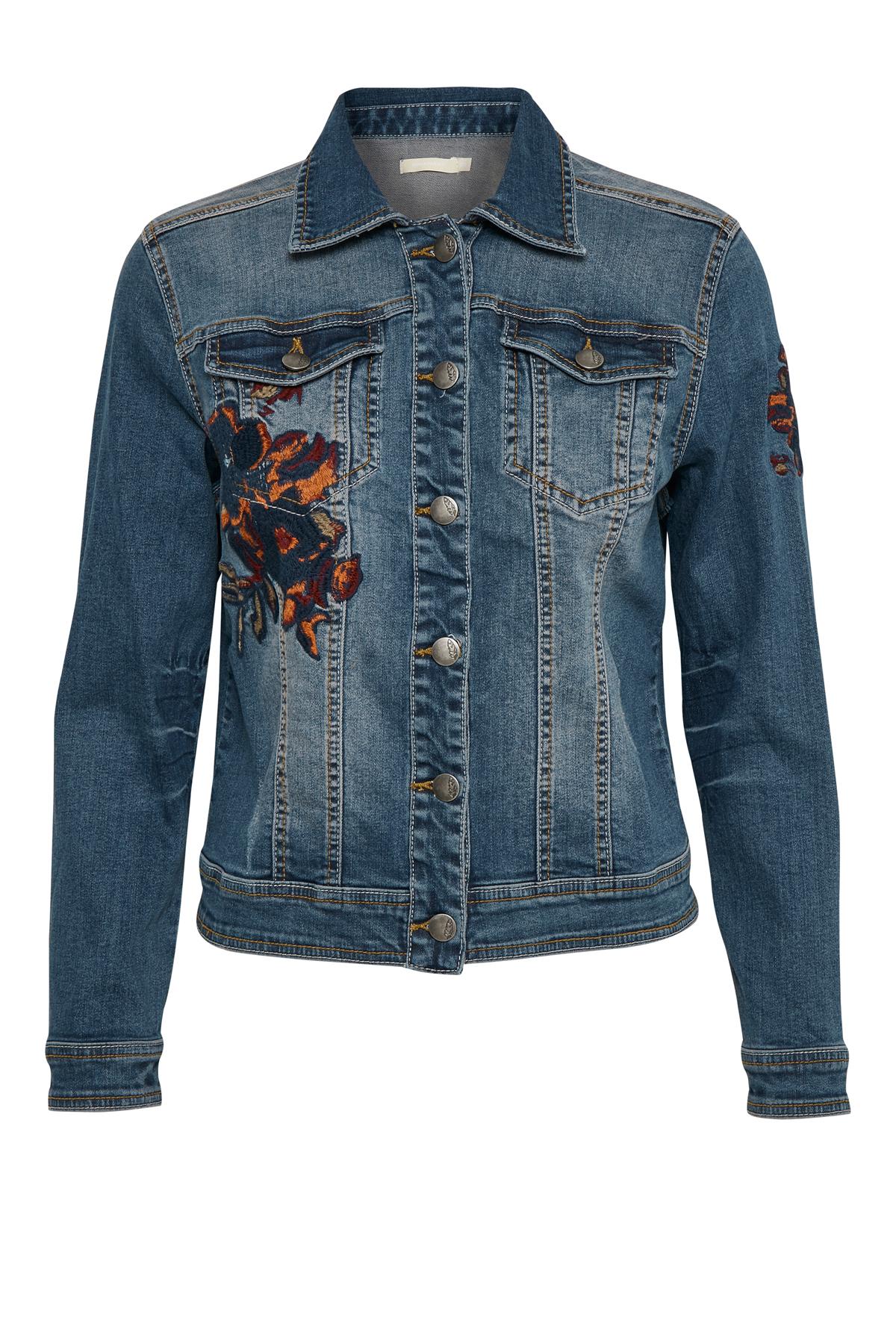 Denimblau Jeansjacke von Bon'A Parte – Shoppen Sie Denimblau Jeansjacke ab Gr. S-2XL hier