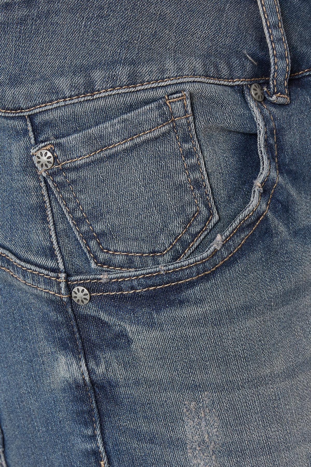 Denimblau Jeansshorts von Bon'A Parte – Shoppen Sie Denimblau Jeansshorts ab Gr. 36-48 hier