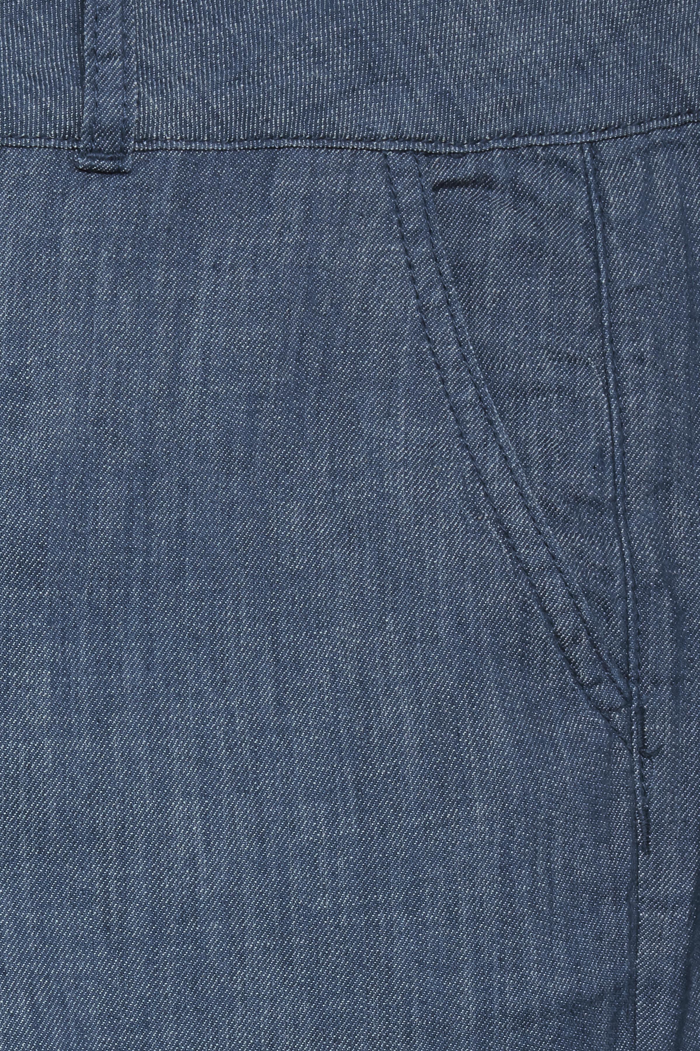 Denimblau Knöchelhose von Fransa – Shoppen SieDenimblau Knöchelhose ab Gr. 34-46 hier