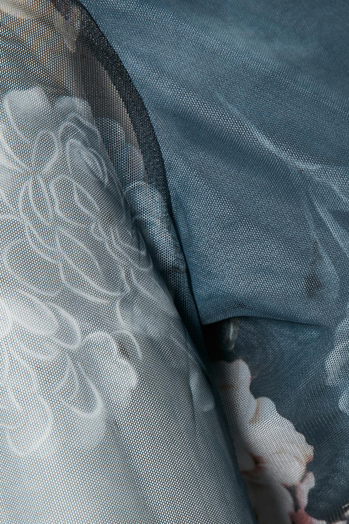 Denimblauw Lange mouwen shirt  van Kaffe – Door Denimblauw Lange mouwen shirt  van maat. XS-XXL hier