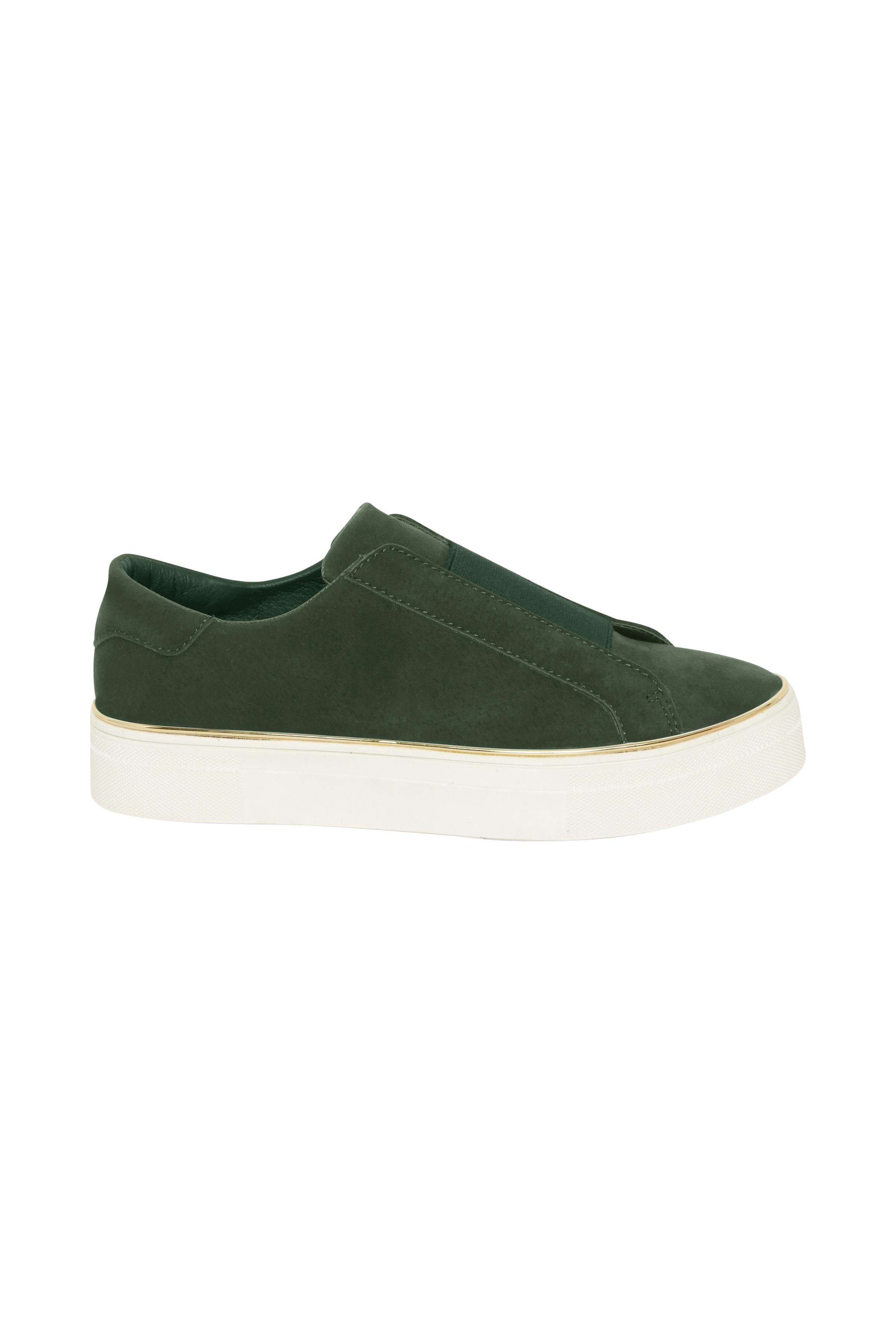 Dim mörkgrön Skor från Ichi - accessories – Köp Dim mörkgrön Skor från stl. 36-41 här