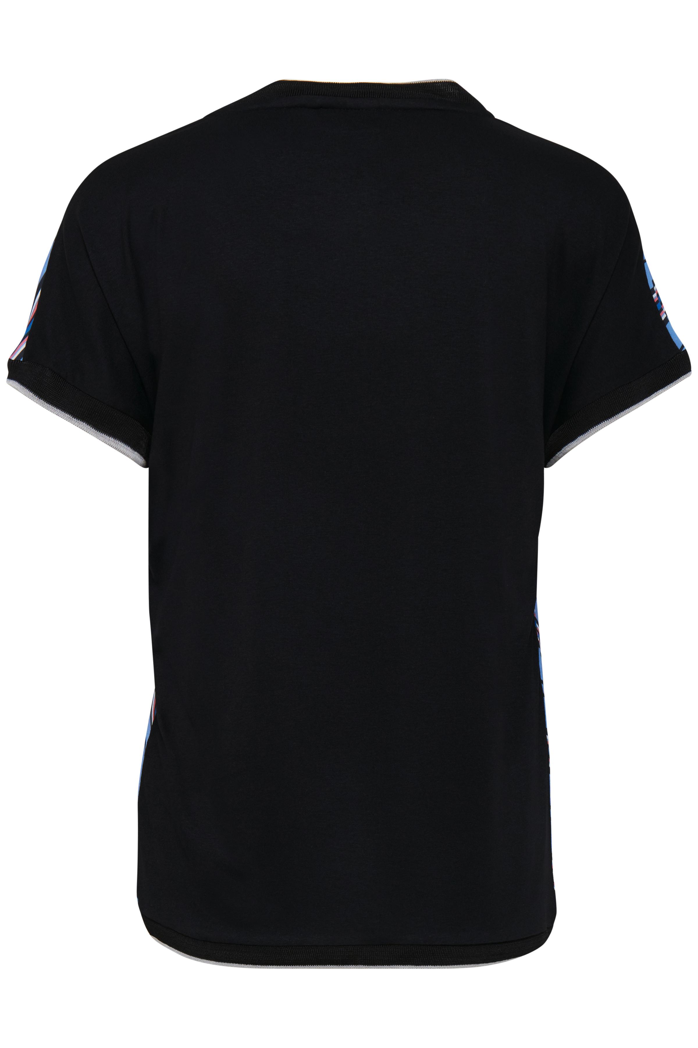 Dimblå/marinblå Kortärmad T-shirt från b.young – Köp Dimblå/marinblå Kortärmad T-shirt från stl. XS-XXL här