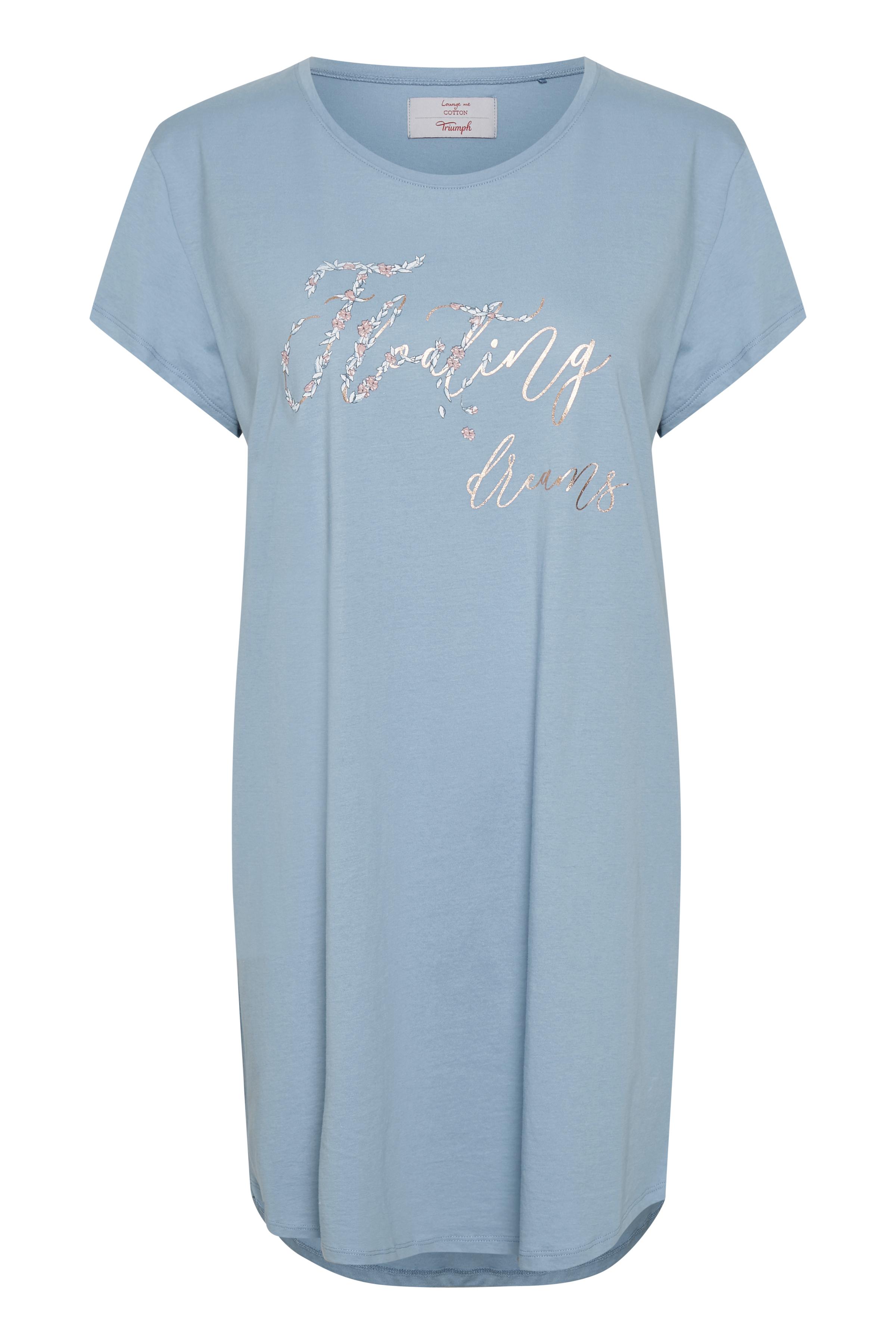 Dimblå Nattkläder från Triumph – Köp Dimblå Nattkläder från stl. 36-48 här
