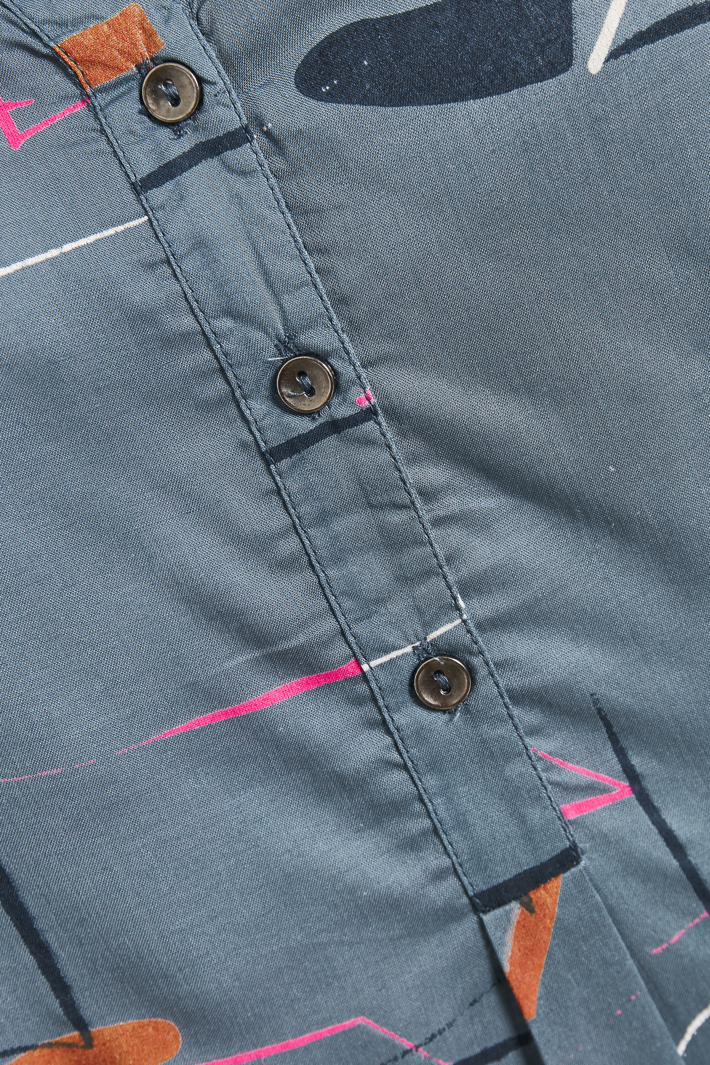 Dimblå/pink Tunika från Bon'A Parte – Köp Dimblå/pink Tunika från stl. S-2XL här