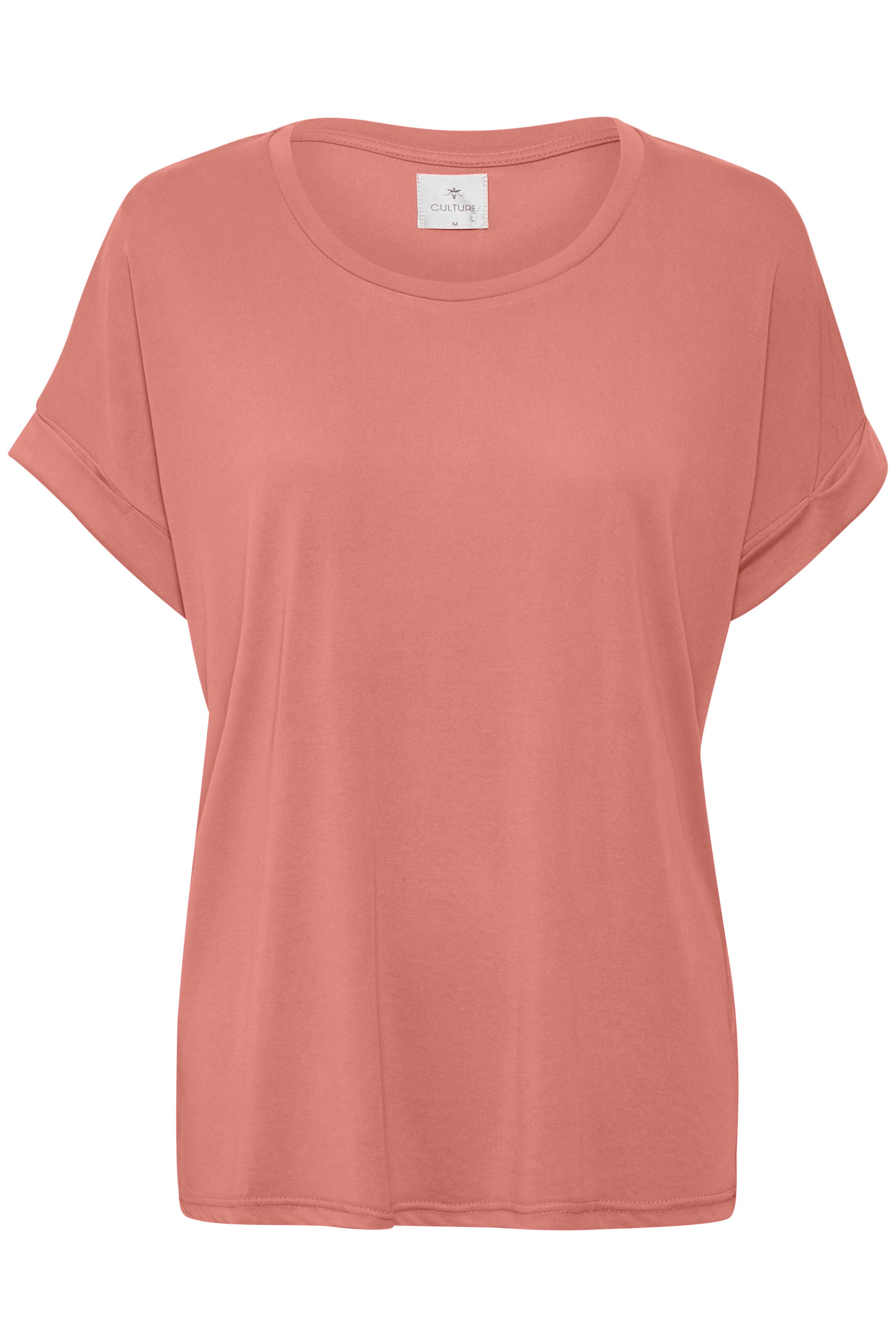 Dimrosa Kortärmad T-shirt från Culture – Köp Dimrosa Kortärmad T-shirt från stl. XS-XXL här