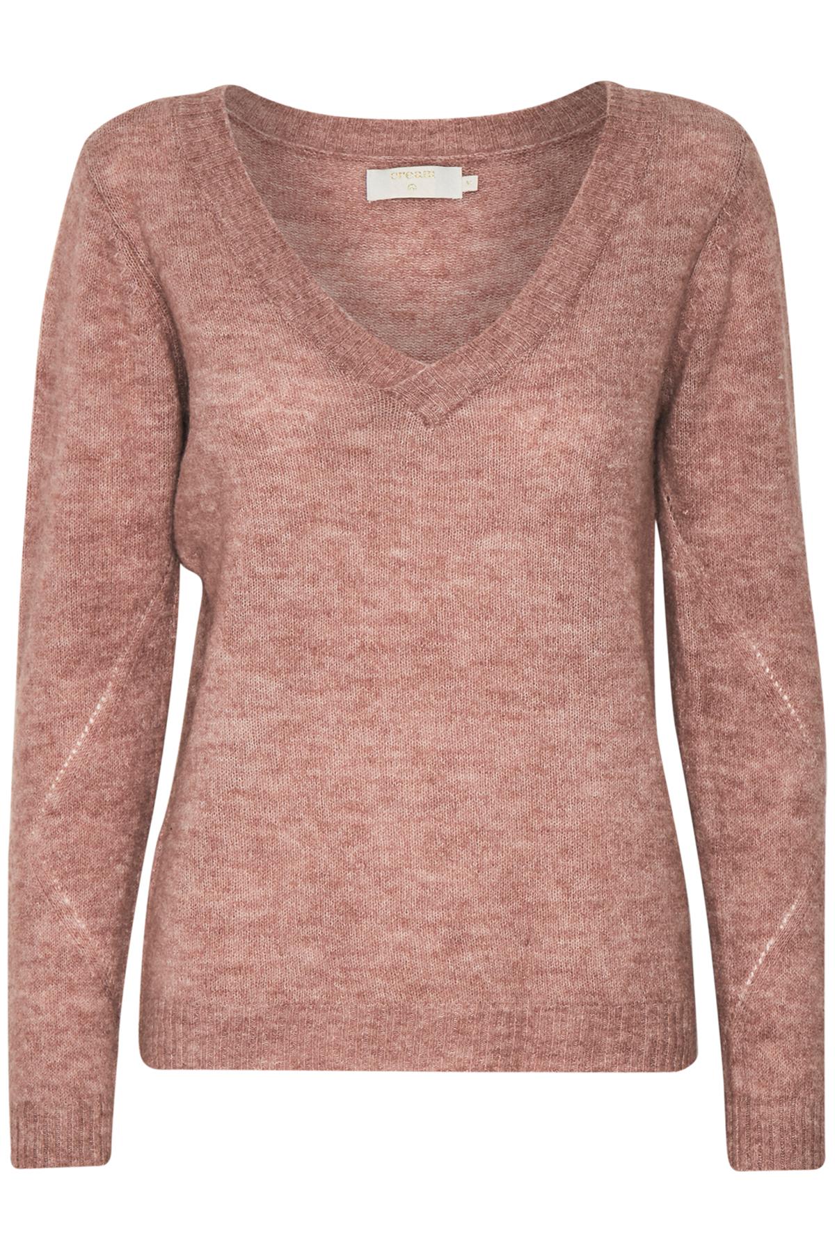 Dimrosa Stickad pullover från Cream – Köp Dimrosa Stickad pullover från stl. XS-XXL här