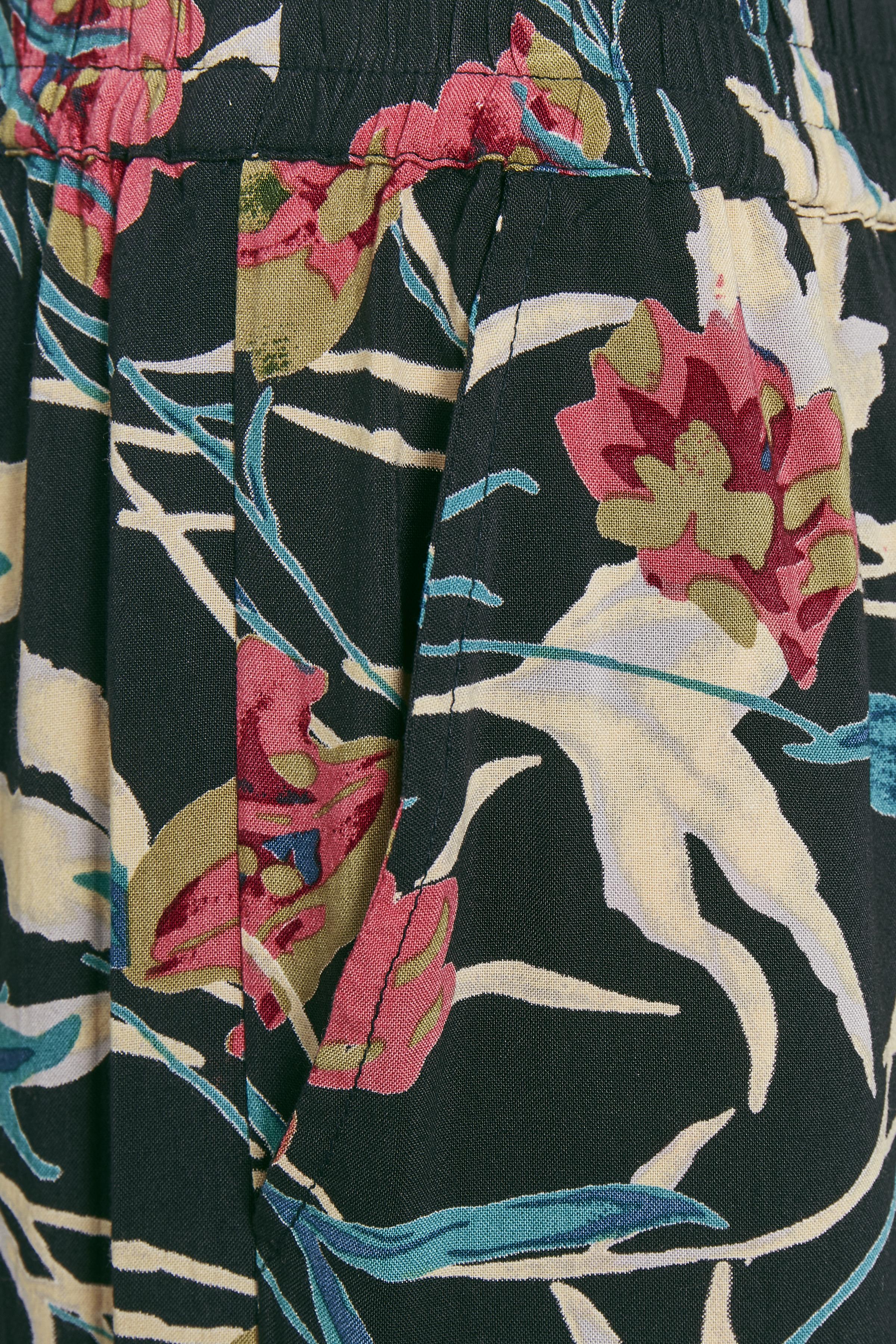 Donker marineblauw/roze Broek van Bon'A Parte – Door Donker marineblauw/roze Broek van maat. S-2XL hier