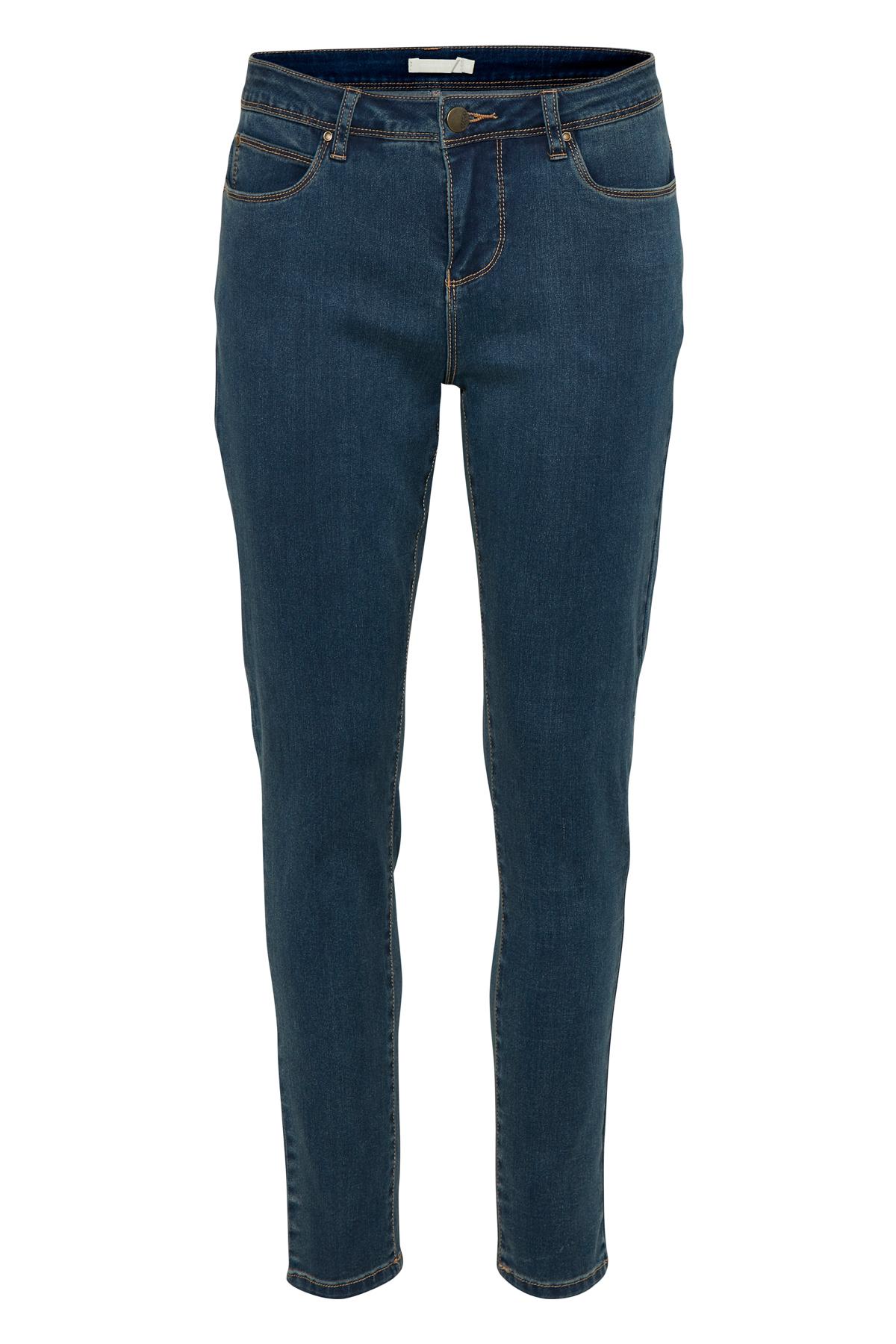 Dunkel denimblau Jeans von Bon'A Parte – Shoppen Sie Dunkel denimblau Jeans ab Gr. 36-48 hier