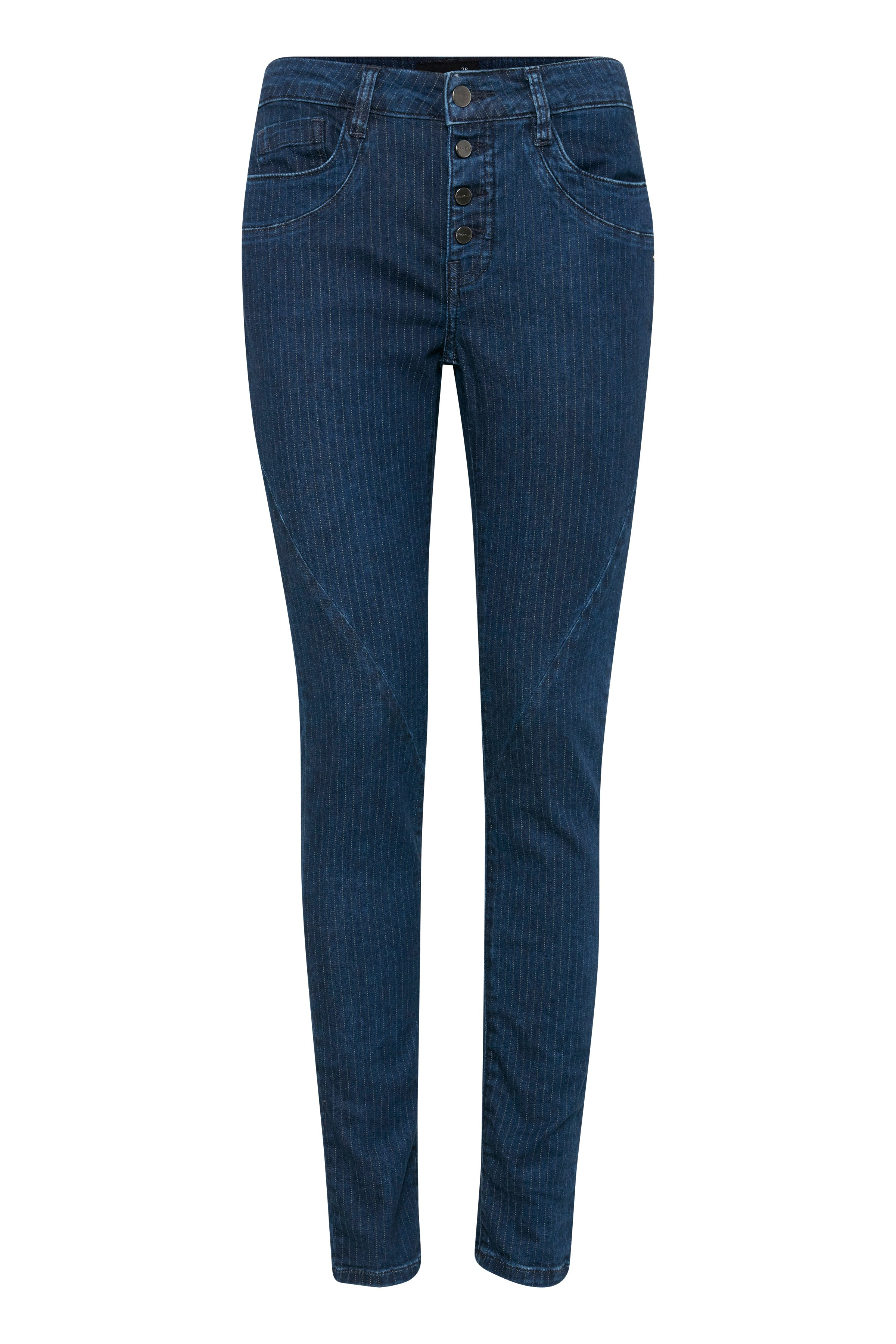 Dunkel denimblau/wollweiß Jeans von Dranella – Shoppen Sie Dunkel denimblau/wollweiß Jeans ab Gr. 32-46 hier