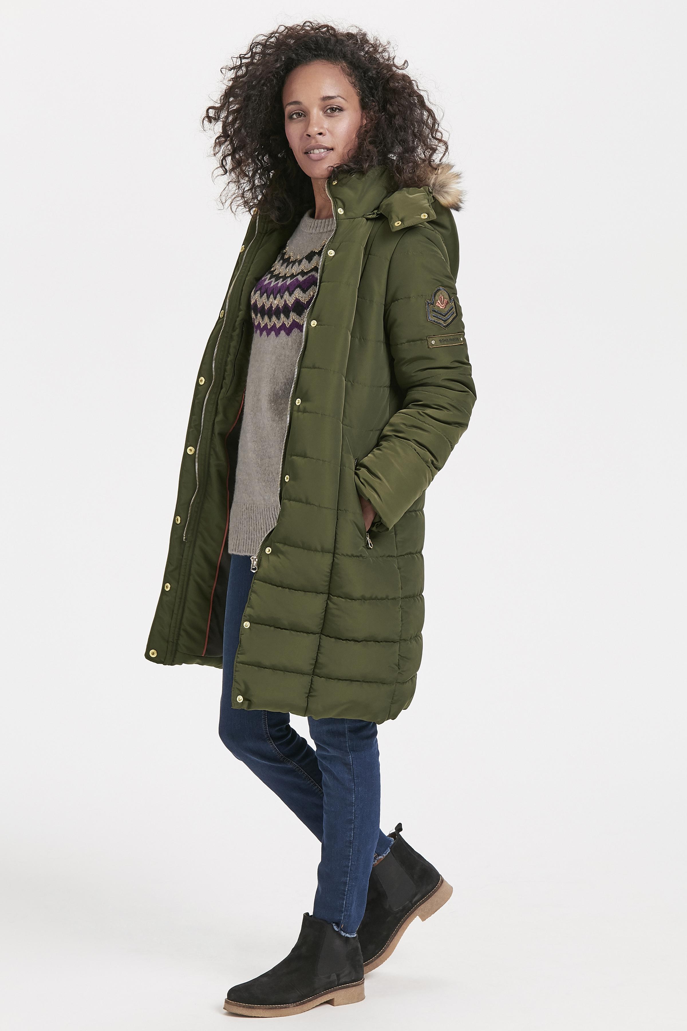 Dunkel olivgrün Jacke von Bon'A Parte – Shoppen Sie Dunkel olivgrün Jacke ab Gr. 36-48 hier