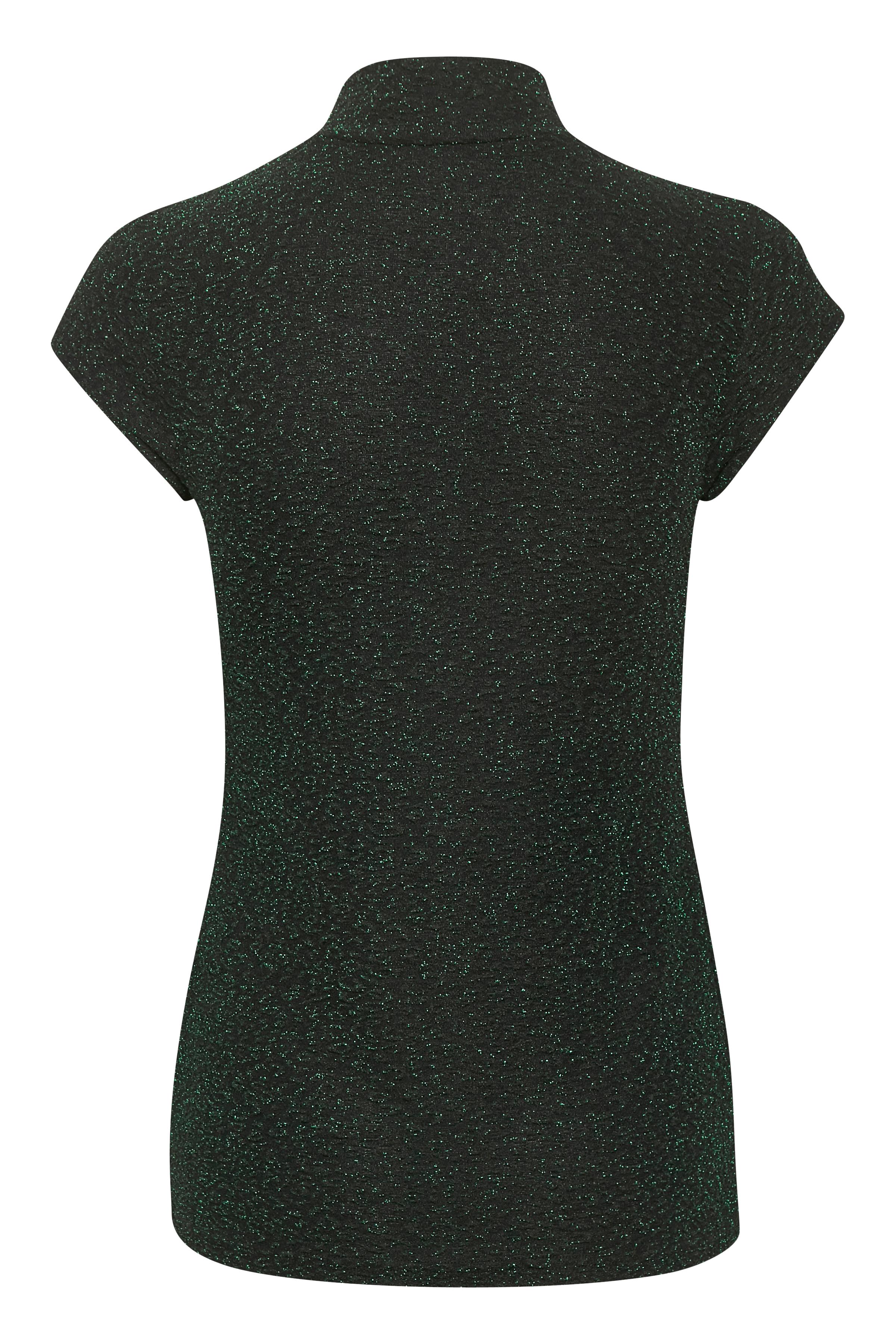 Dunkel olivgrün Kurzarm-Bluse von Kaffe – Shoppen Sie Dunkel olivgrün Kurzarm-Bluse ab Gr. XS-XXL hier