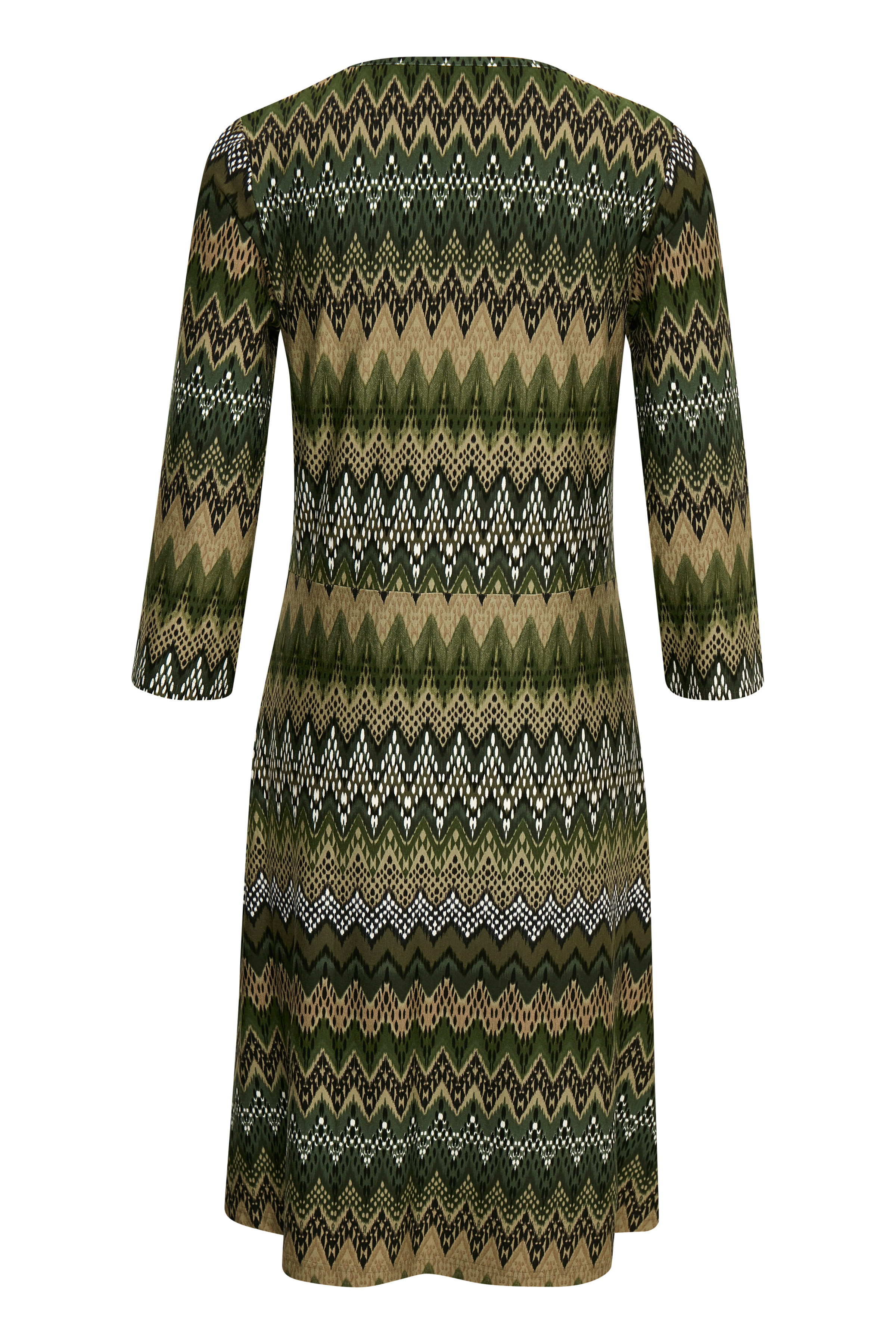 Dunkelgrün Kleid von Bon'A Parte – Shoppen Sie Dunkelgrün Kleid ab Gr. S-2XL hier
