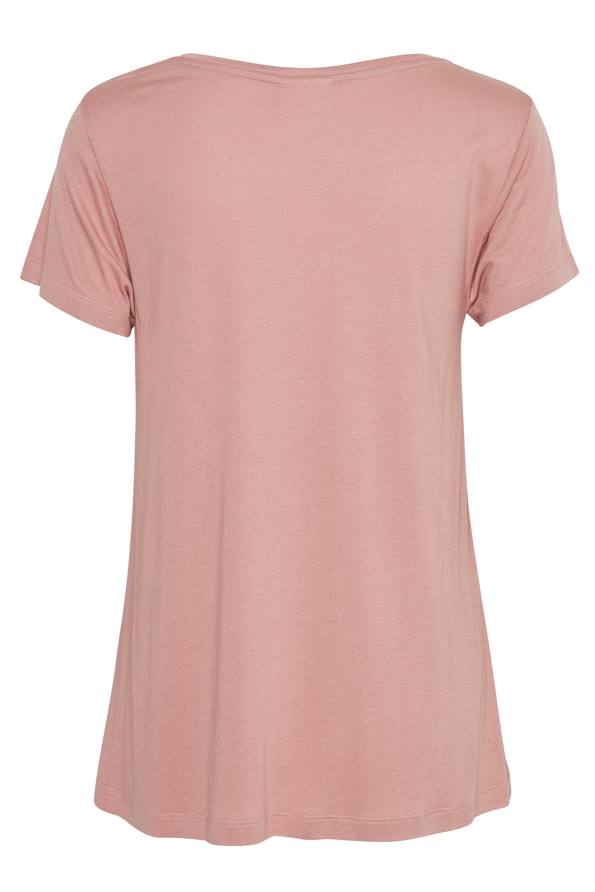 Dunkelrosa Kurzarm T-Shirt von Kaffe – Shoppen Sie Dunkelrosa Kurzarm T-Shirt ab Gr. XS-XXL hier