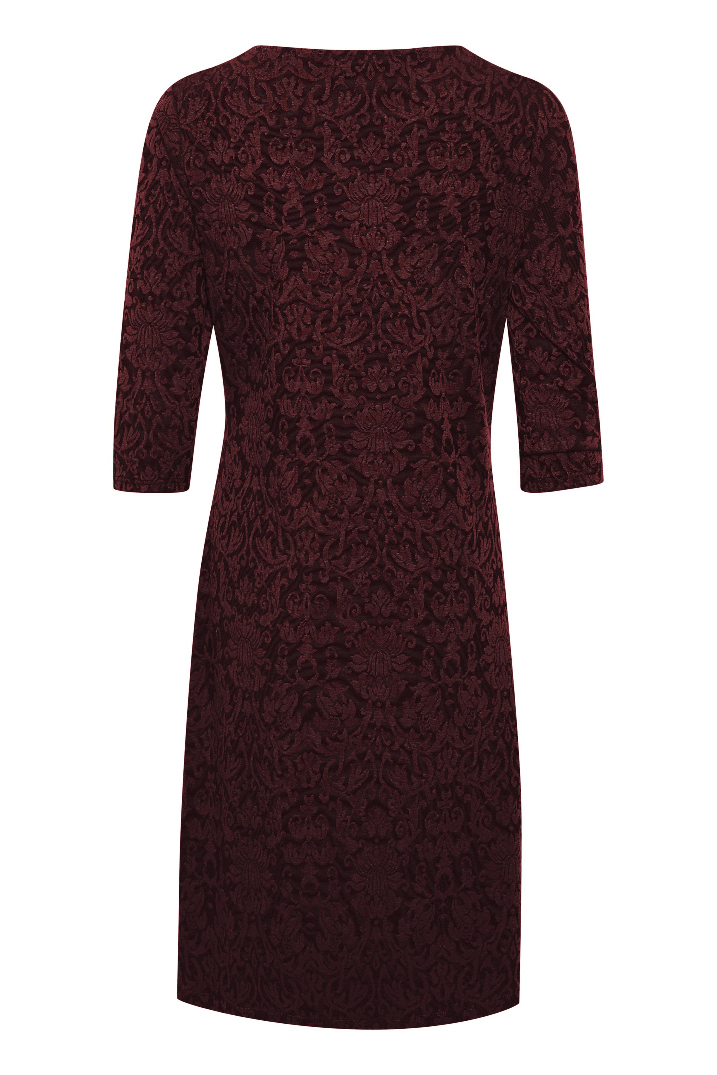 Dunkelrot Kleid von Bon'A Parte – Shoppen Sie Dunkelrot Kleid ab Gr. S-2XL hier
