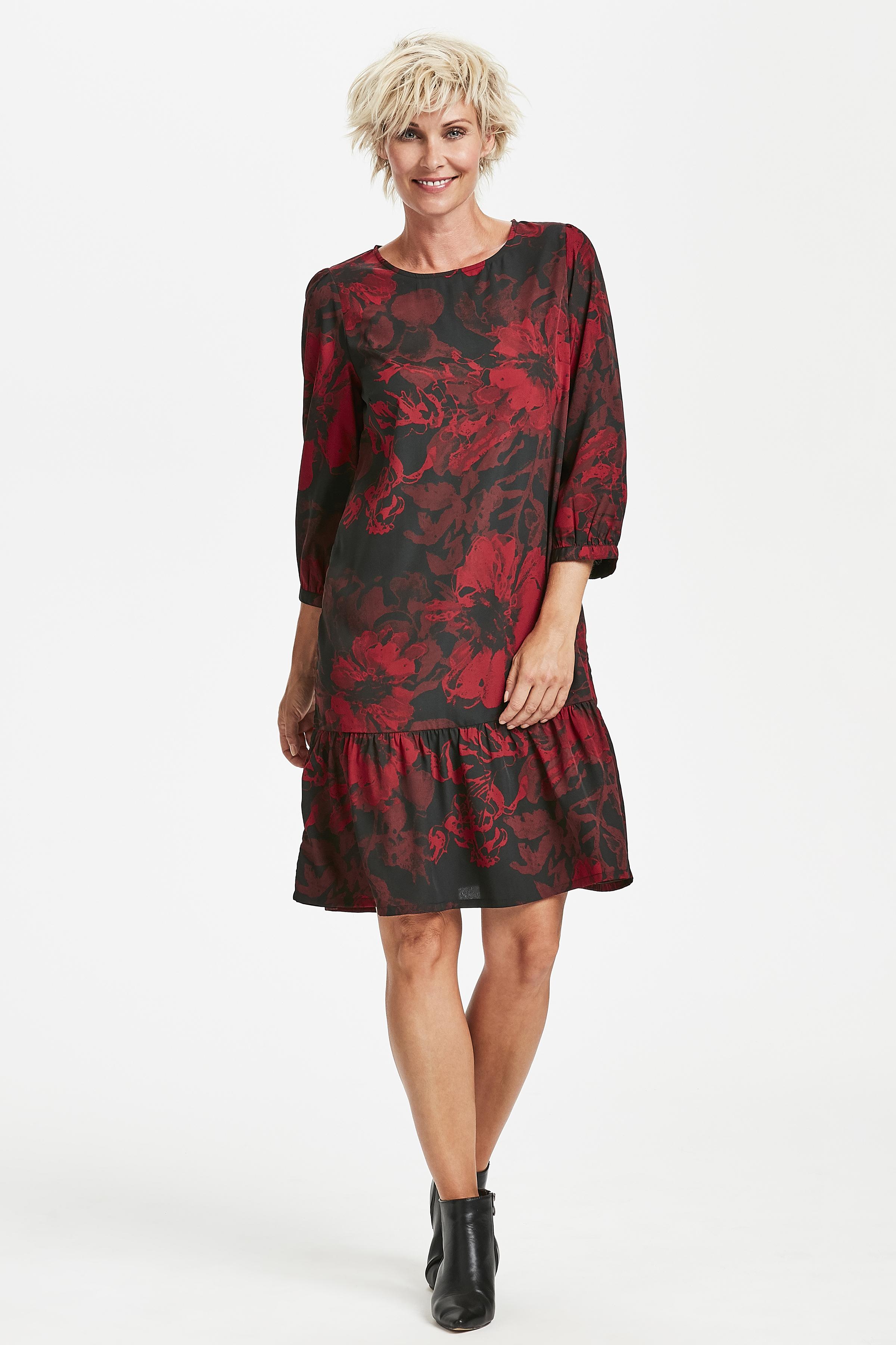 Dunkelrot Kleid von Kaffe – Shoppen Sie Dunkelrot Kleid ab Gr. 34-46 hier