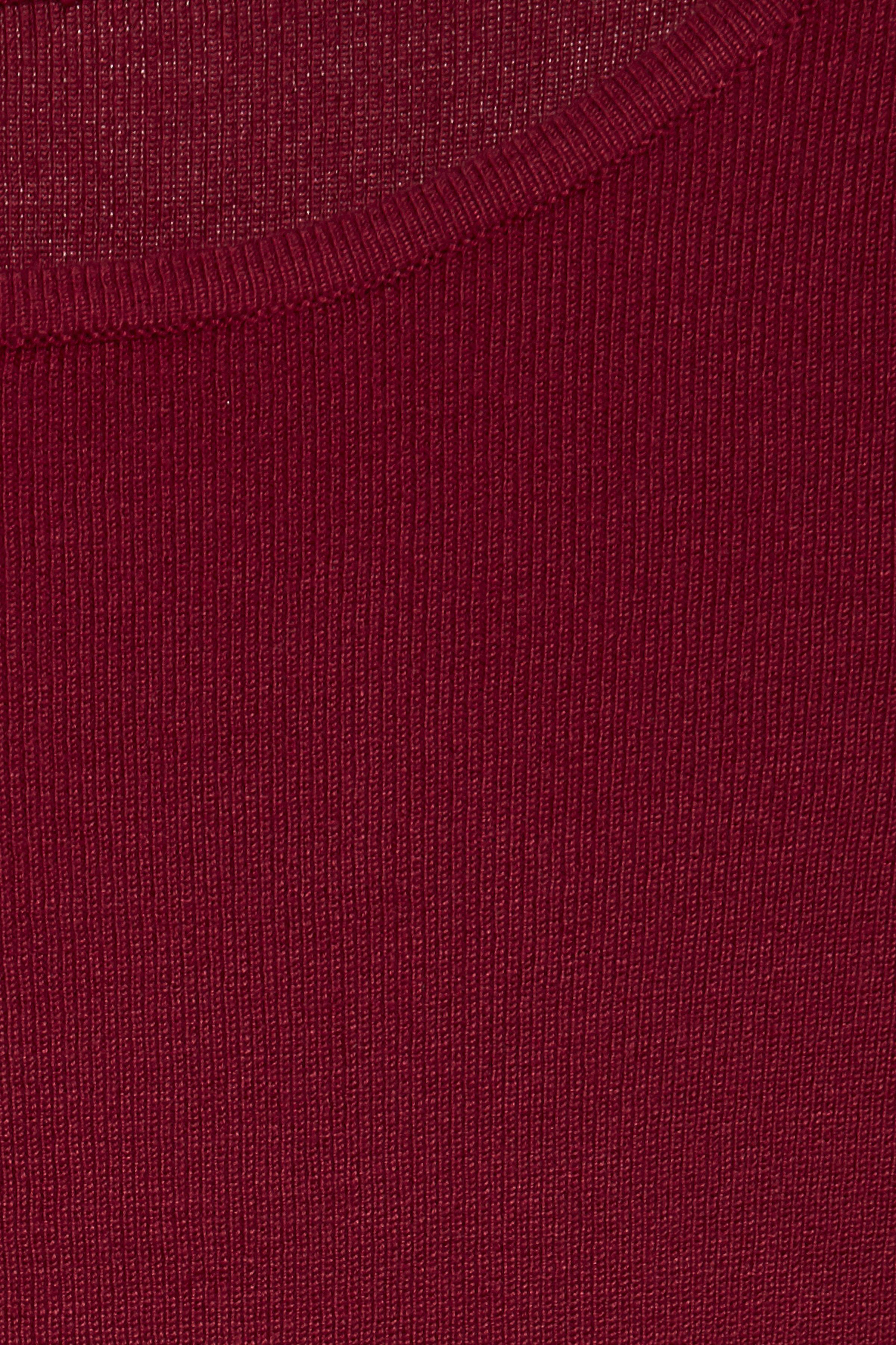 Dunkelrot Strickpullover von Pulz Jeans – Shoppen Sie Dunkelrot Strickpullover ab Gr. XS-XXL hier
