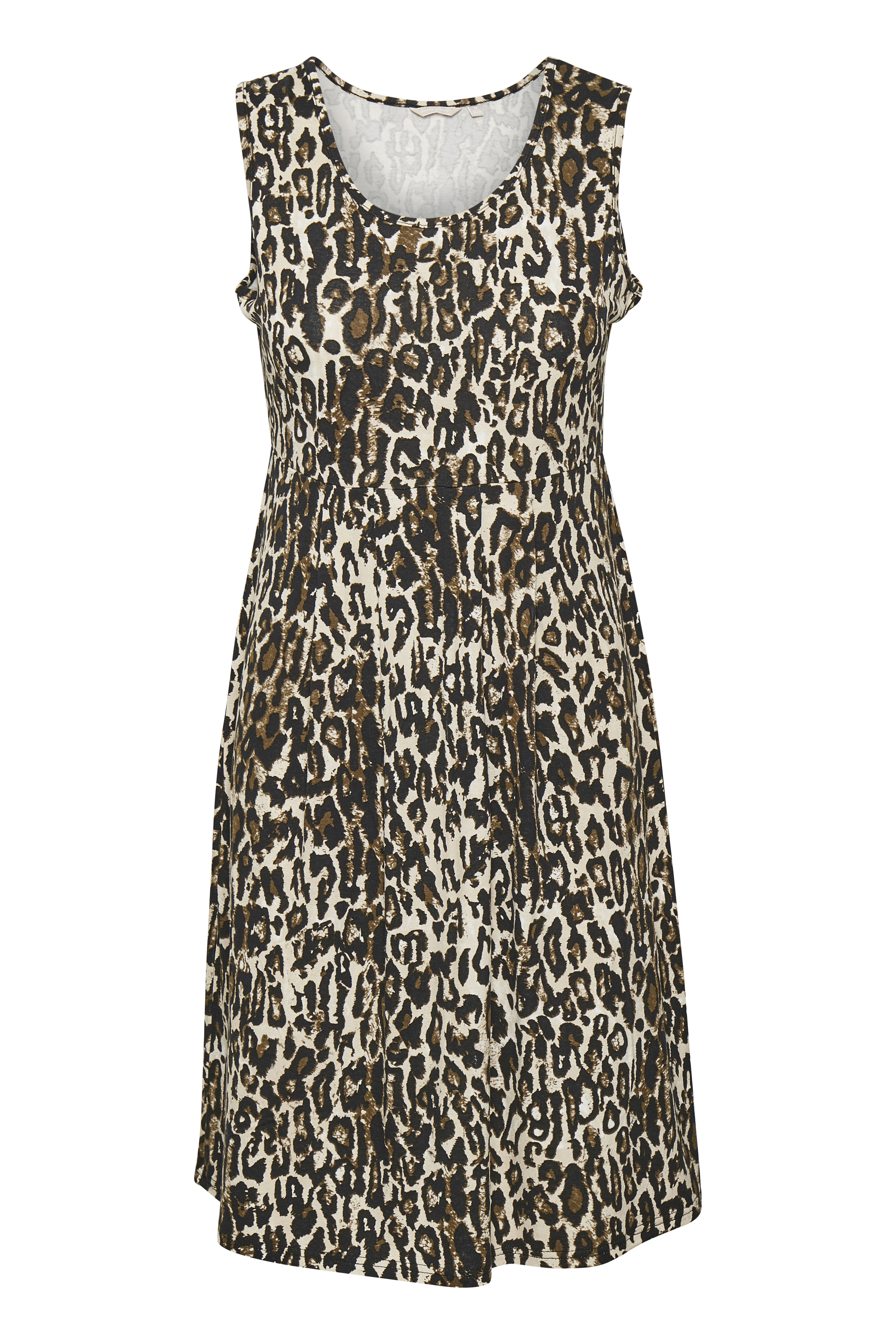 Dunkelsand/schwarz Kleid von Bon'A Parte – Shoppen Sie Dunkelsand/schwarz Kleid ab Gr. S-2XL hier