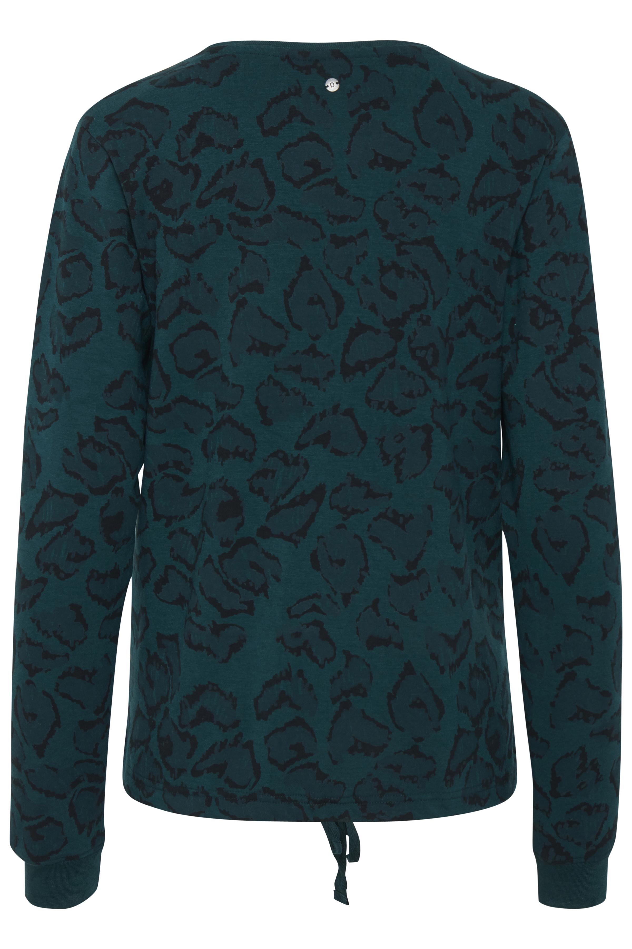 Flaschengrün/lila Sweatshirt von Dranella – Shoppen Sie Flaschengrün/lila Sweatshirt ab Gr. XS-XXL hier
