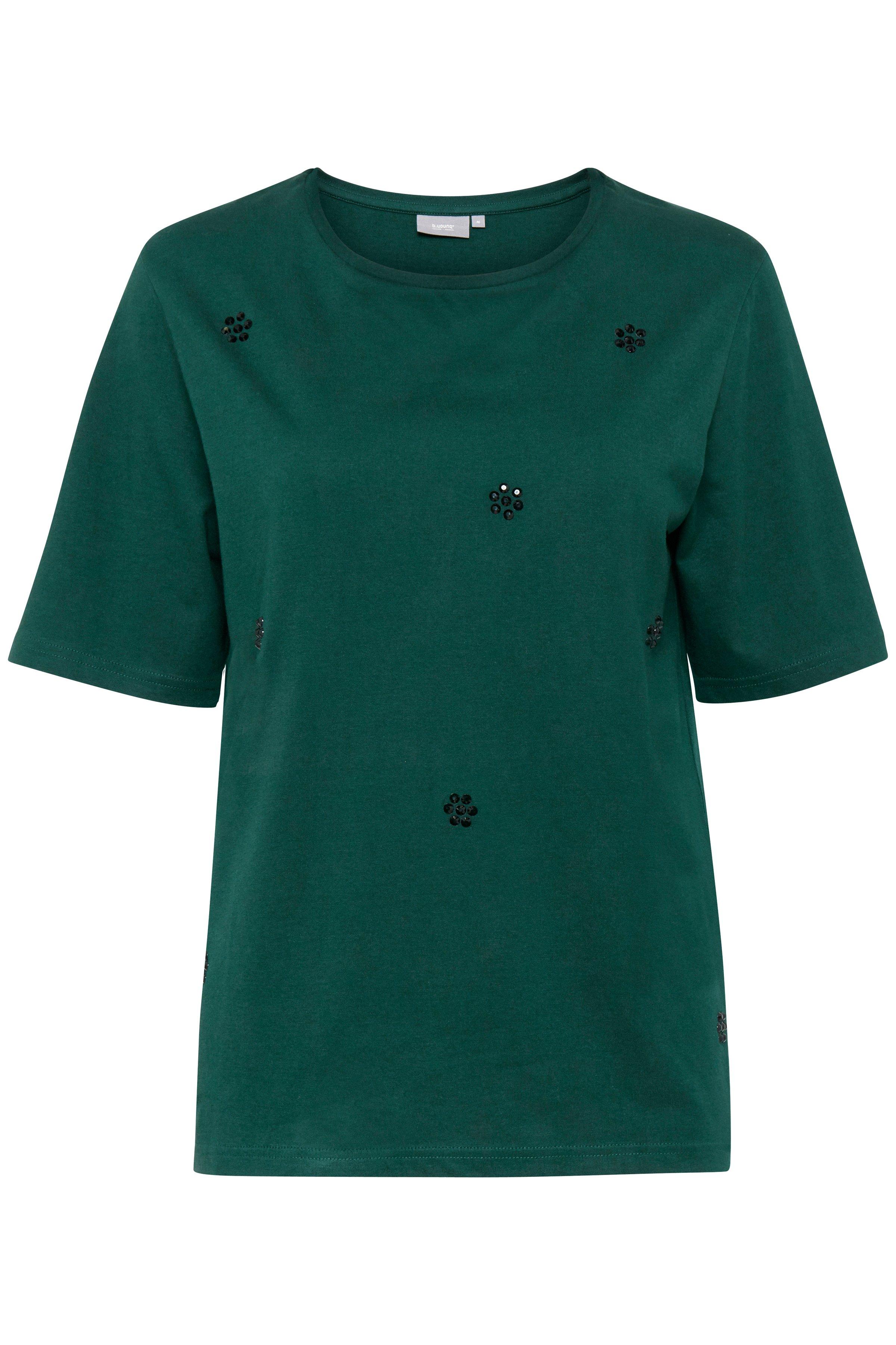 b.young Dame T-shirt  - Flaskegrøn
