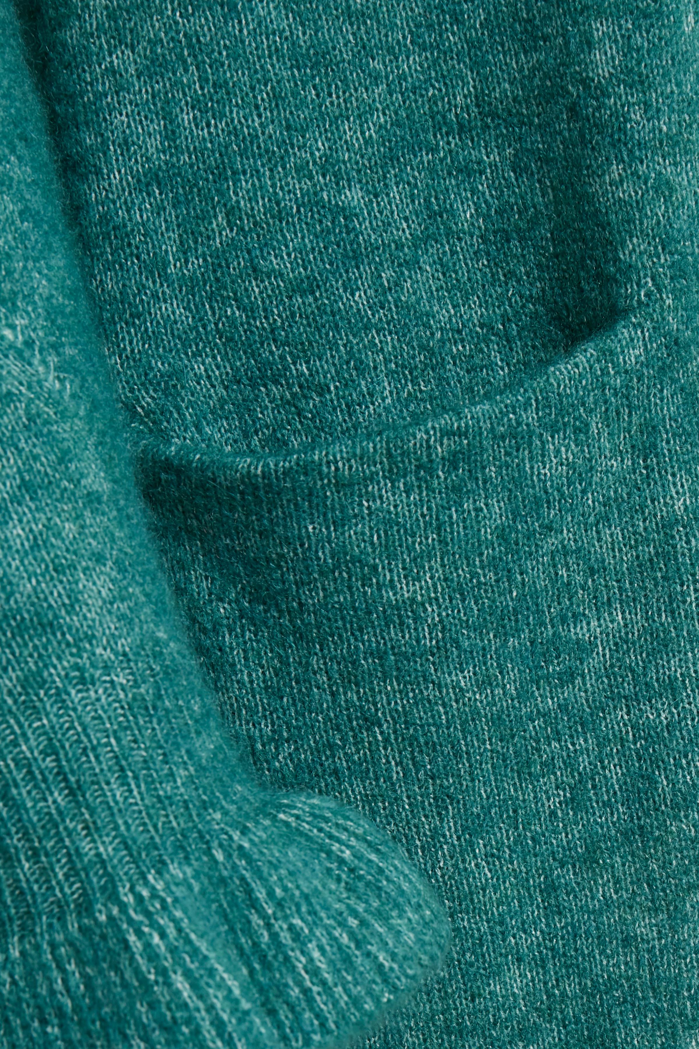 Flaskegrøn meleret Cardigan fra Cream – Køb Flaskegrøn meleret Cardigan fra str. XS-XXL her