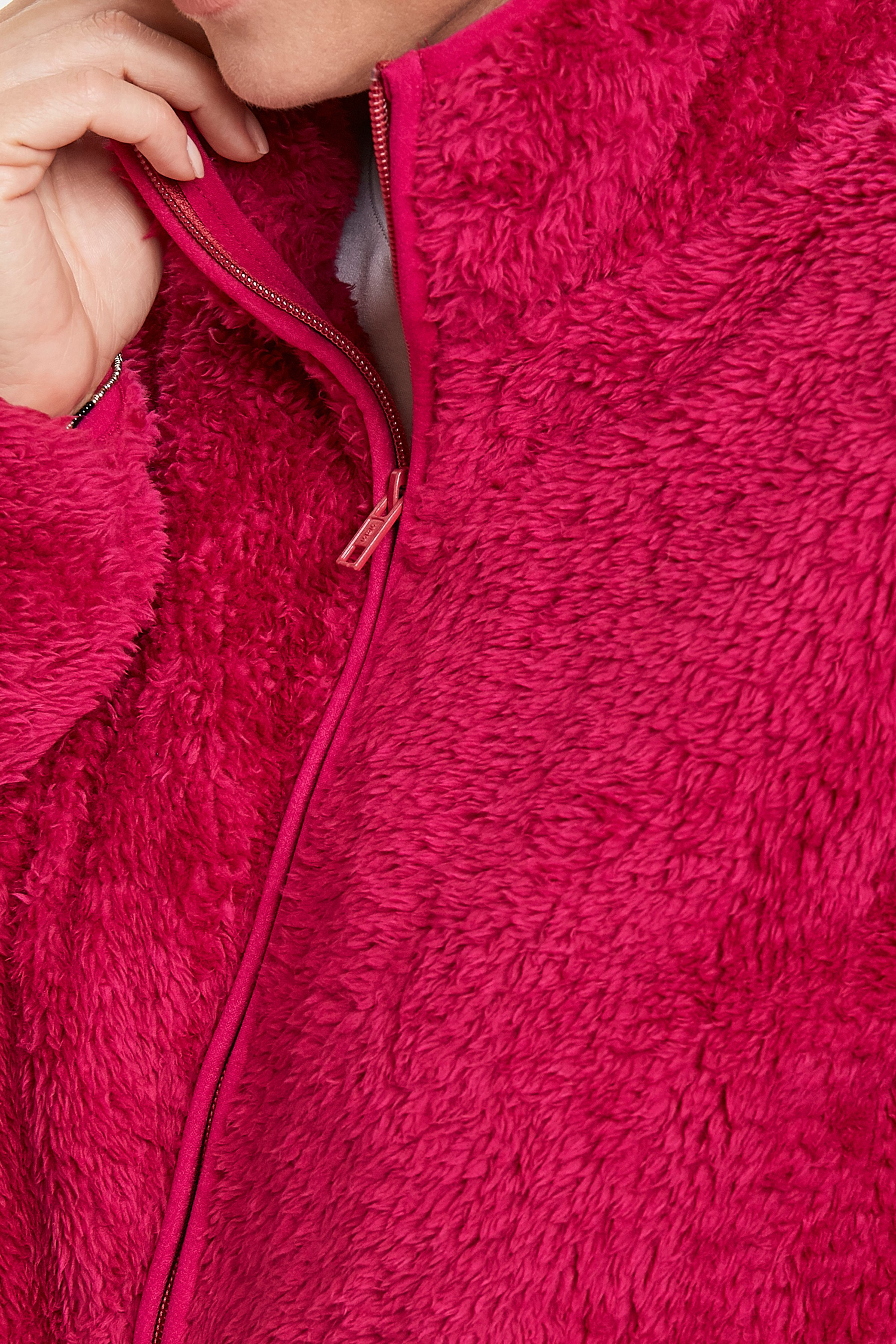 Fuchsia Stickad cardigan från Fransa – Köp Fuchsia Stickad cardigan från stl. XS-XXL här