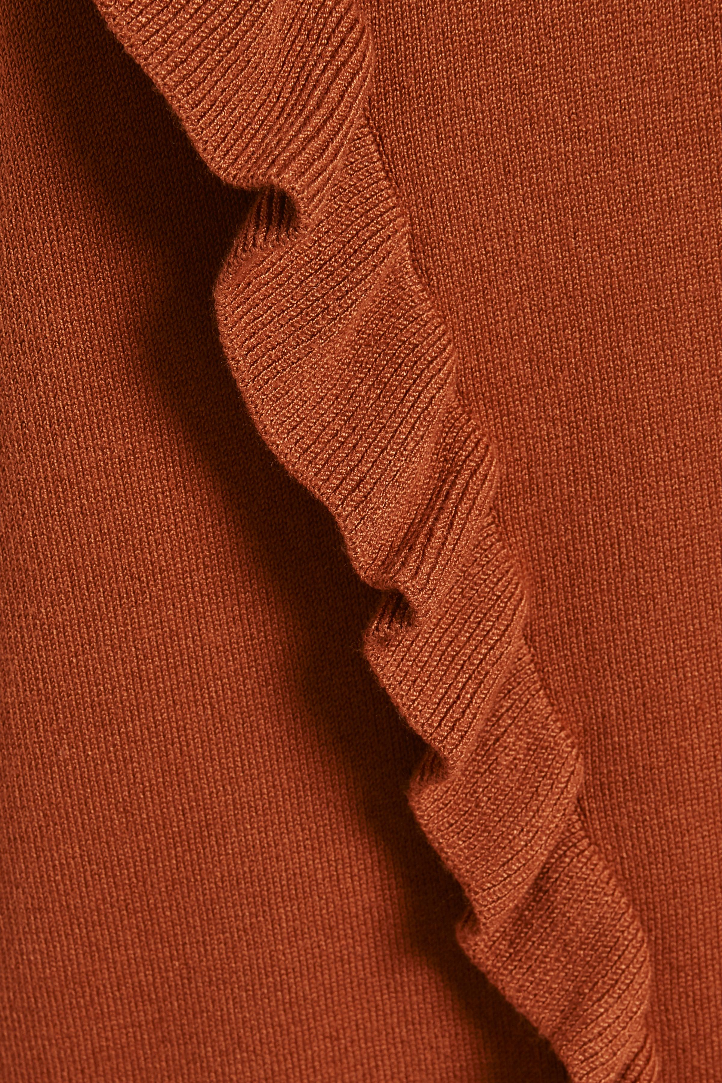 Gebranntes orange Strickpullover von Kaffe – Shoppen Sie Gebranntes orange Strickpullover ab Gr. XS-XXL hier