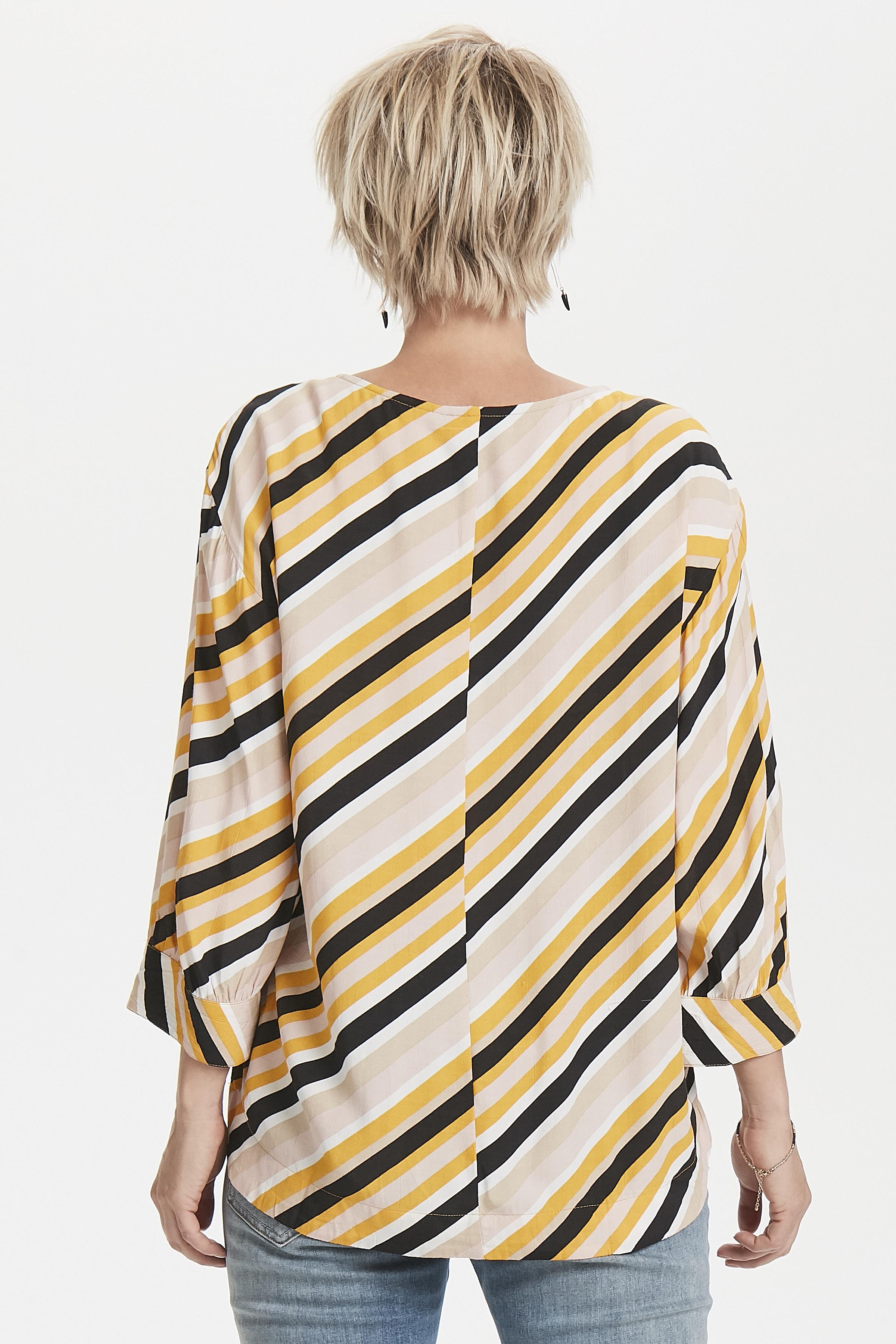 Geel/zand Shirt van b.young – Door Geel/zand Shirt van maat. 34-46 hier