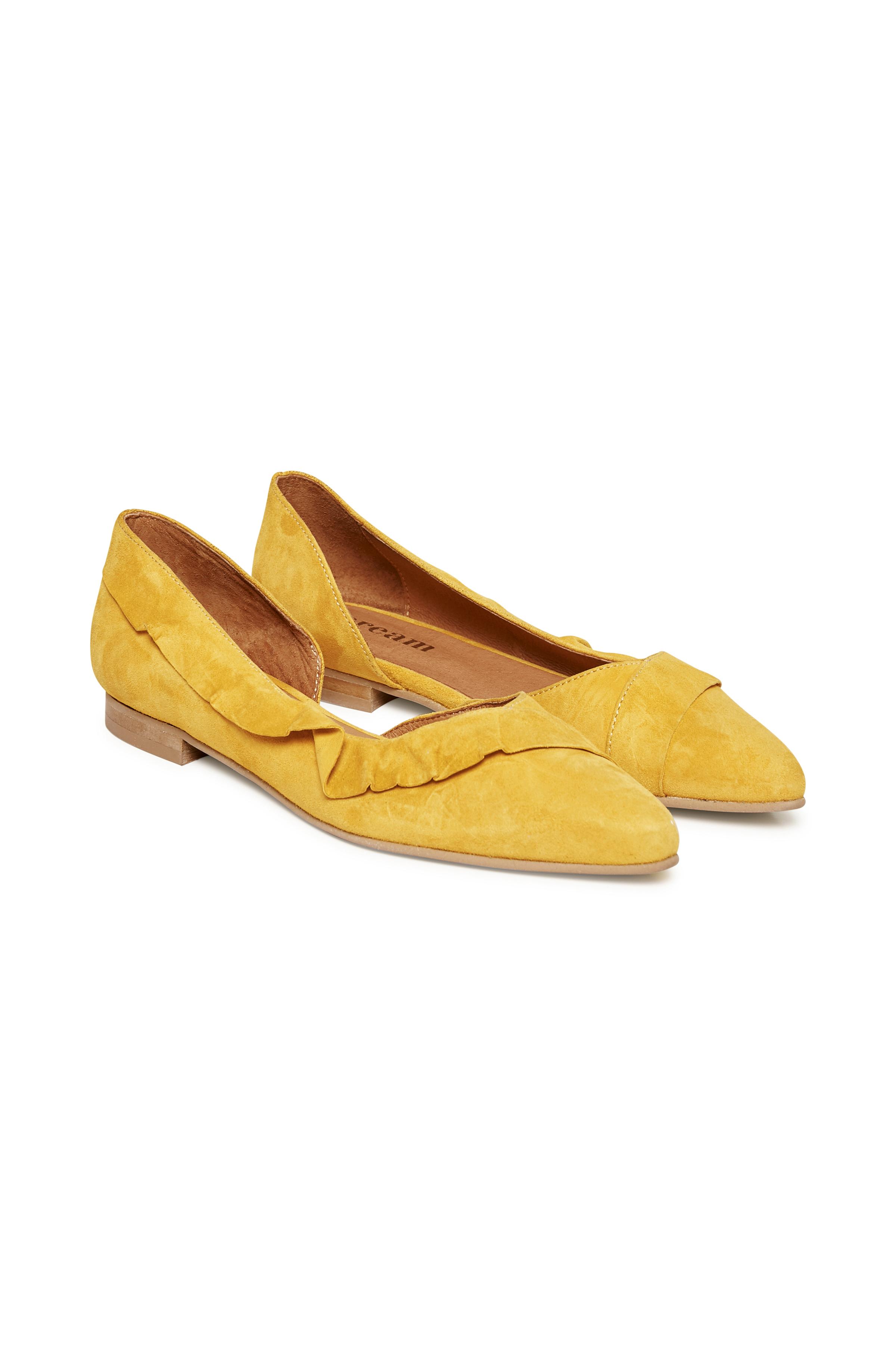 Gelb Wildlederschuhe von Cream Accessories – Shoppen Sie Gelb Wildlederschuhe ab Gr. 36-41 hier