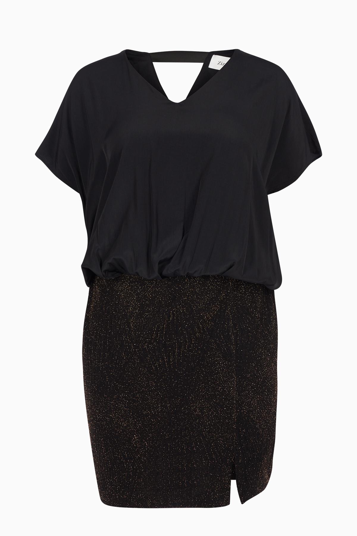Gold Kleid von Zizzi – Shoppen Sie Gold Kleid ab Gr. 42-44-54-56 hier