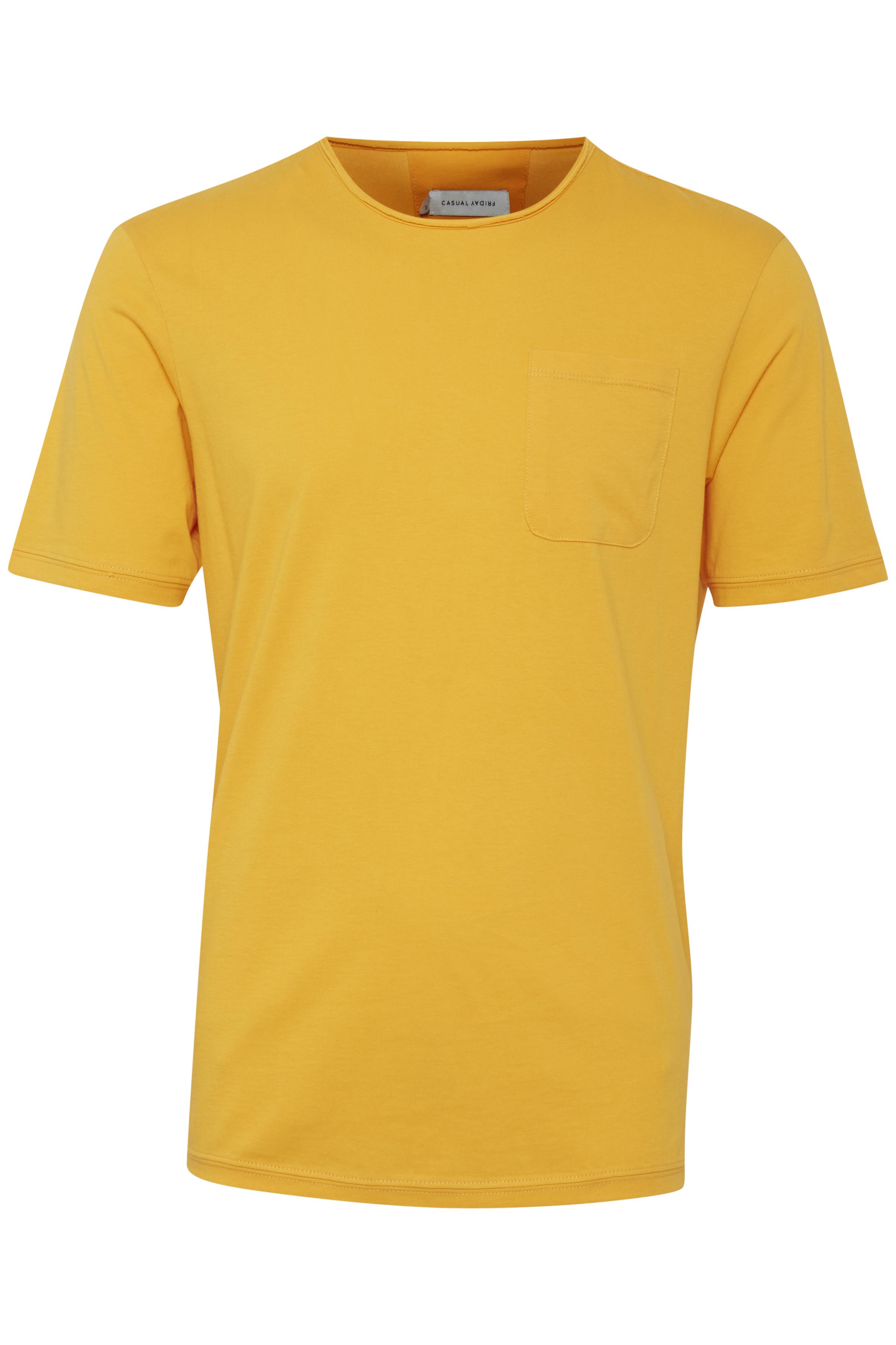 Golden Rod T-Shirt fra Casual Friday – Køb Golden Rod T-Shirt fra str. S-3XL her