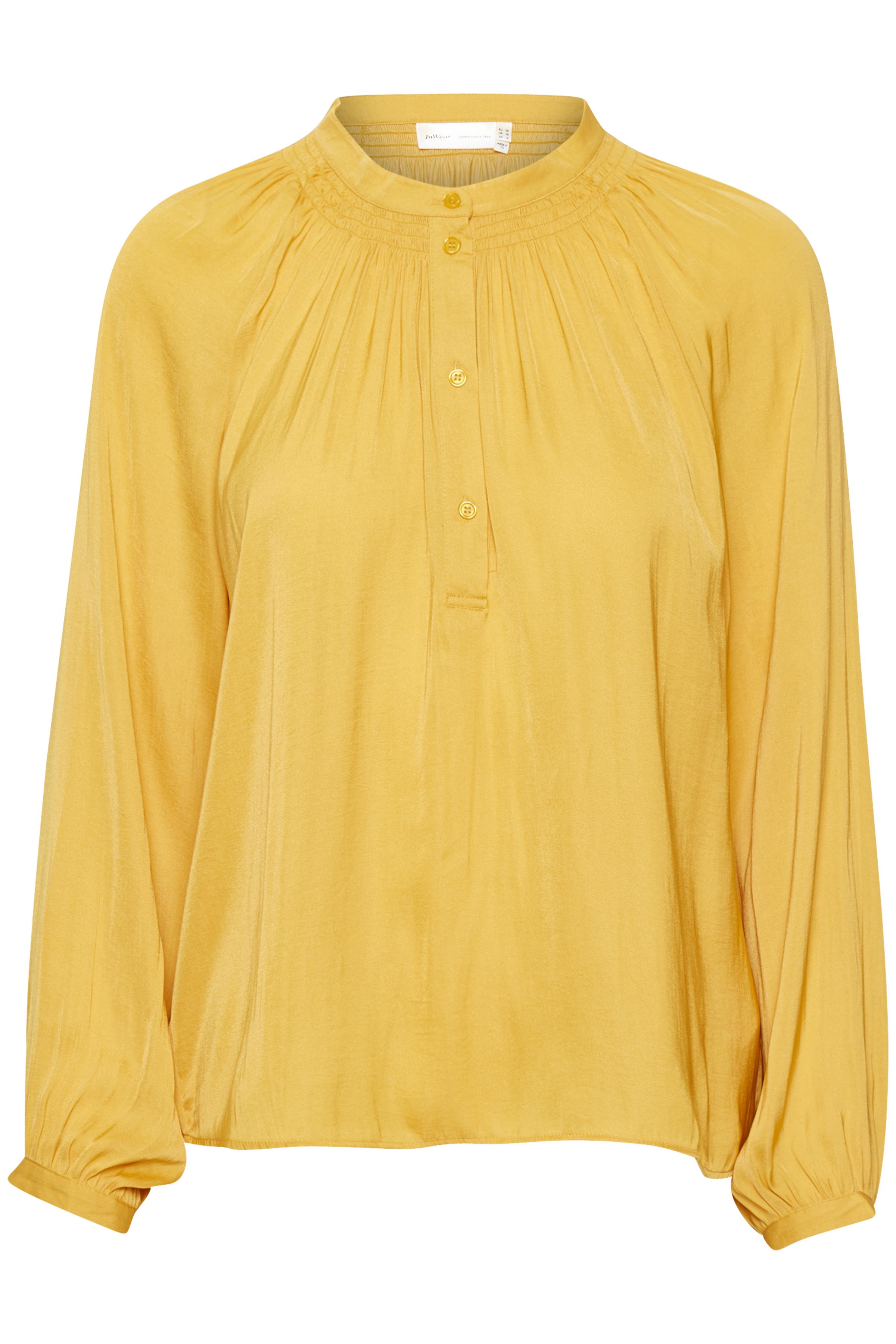 Image of   InWear Dame Langærmet skjorte - Golden Yellow