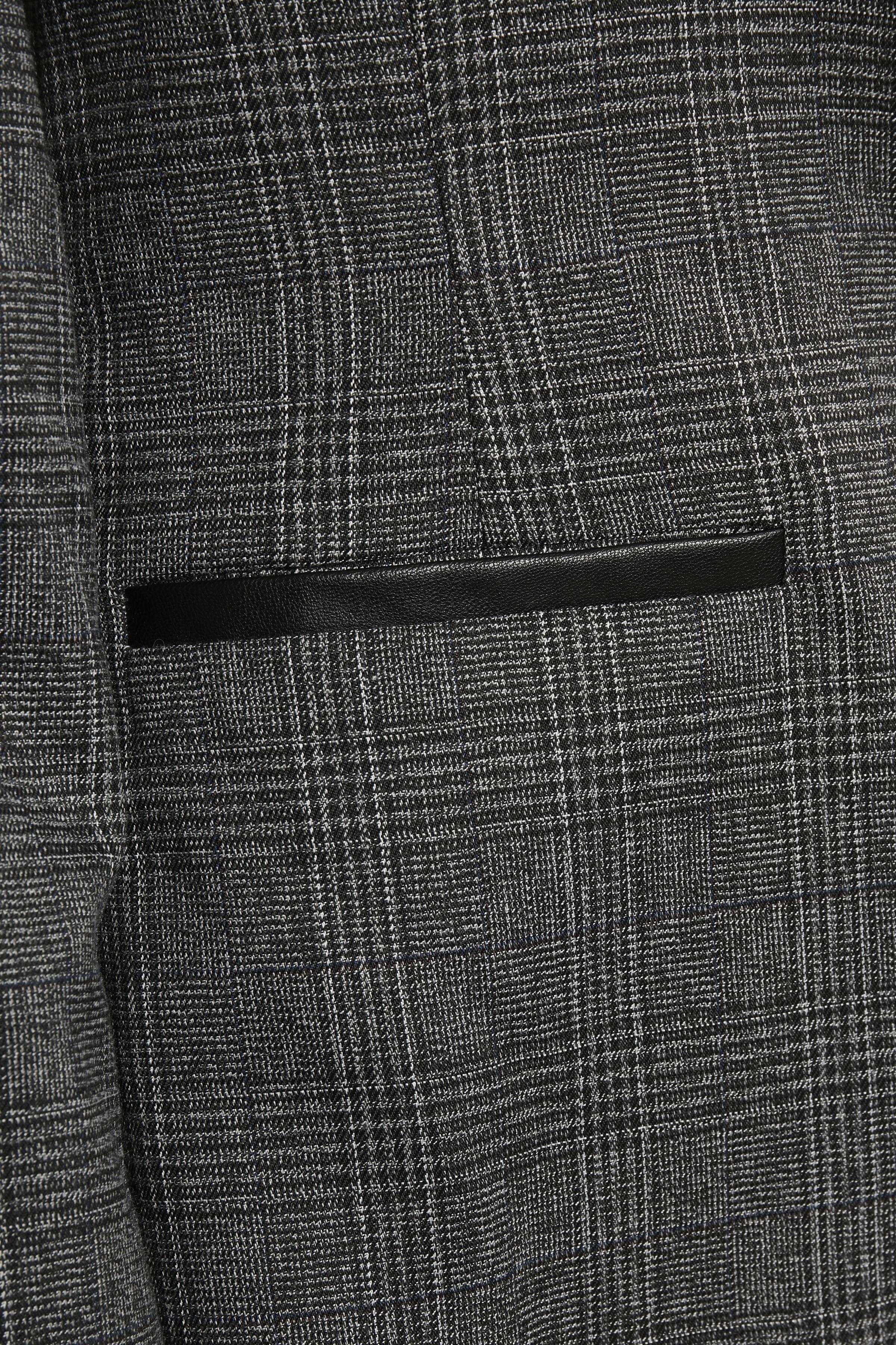 Grå Blazer från Bon'A Parte – Köp Grå Blazer från stl. 36-48 här