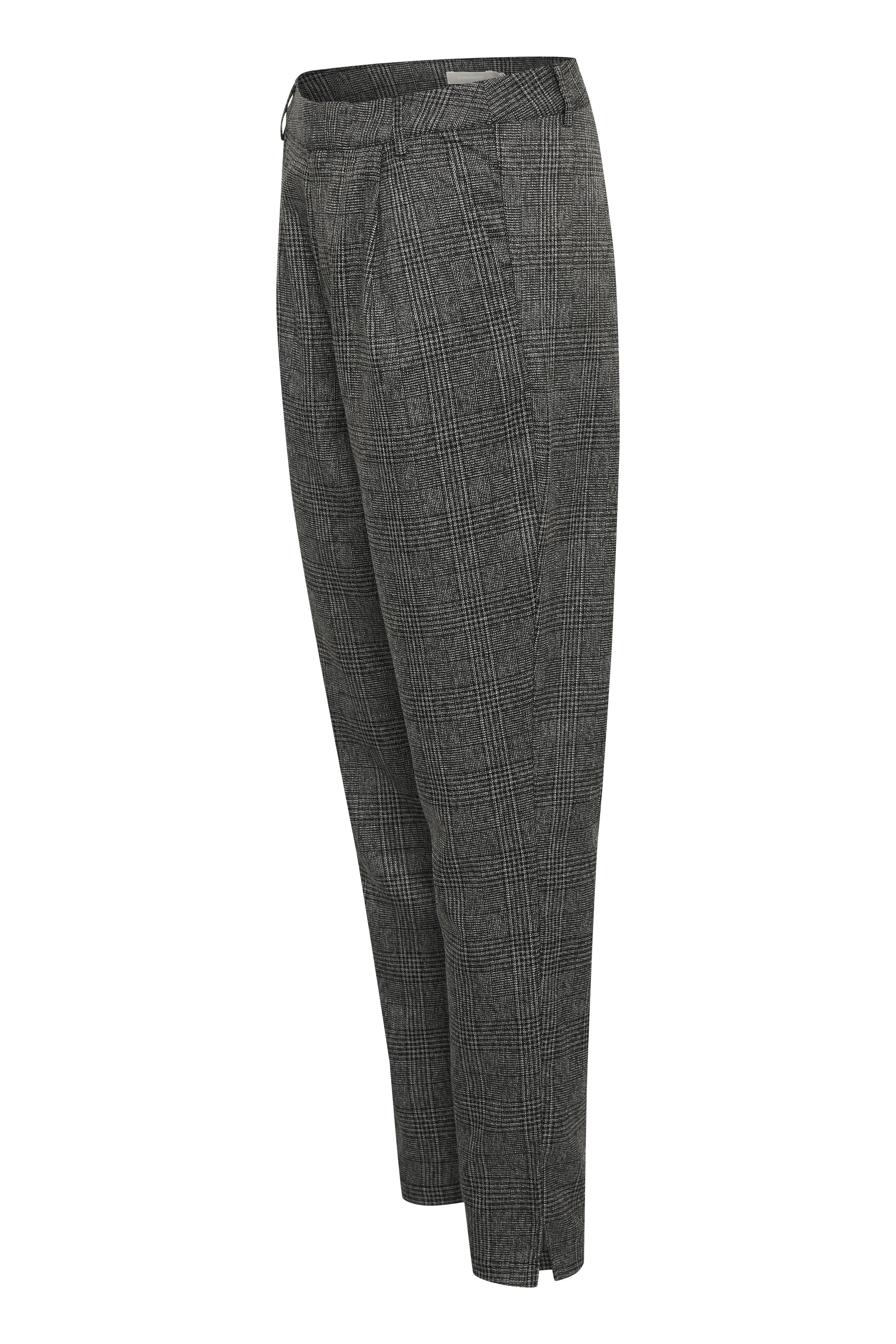 Grå Casual byxor från Bon'A Parte – Köp Grå Casual byxor från stl. 36-48 här