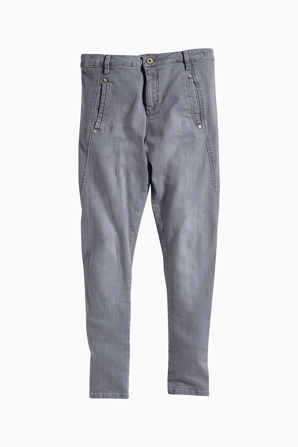 Image of BonA Parte Dame Jeans - Grå