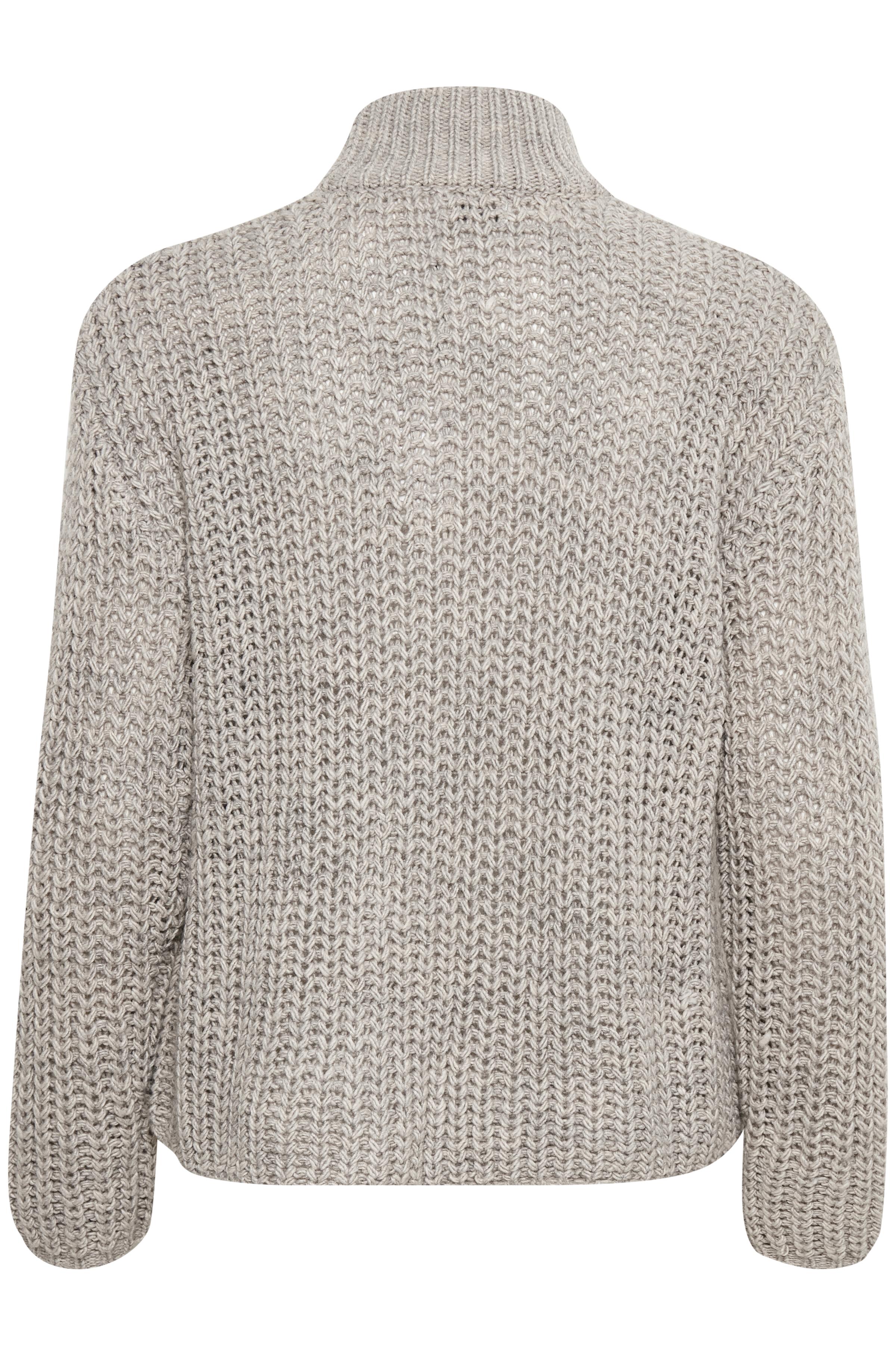 Grå Stickad pullover från Dranella – Köp Grå Stickad pullover från stl. XS-XXL här