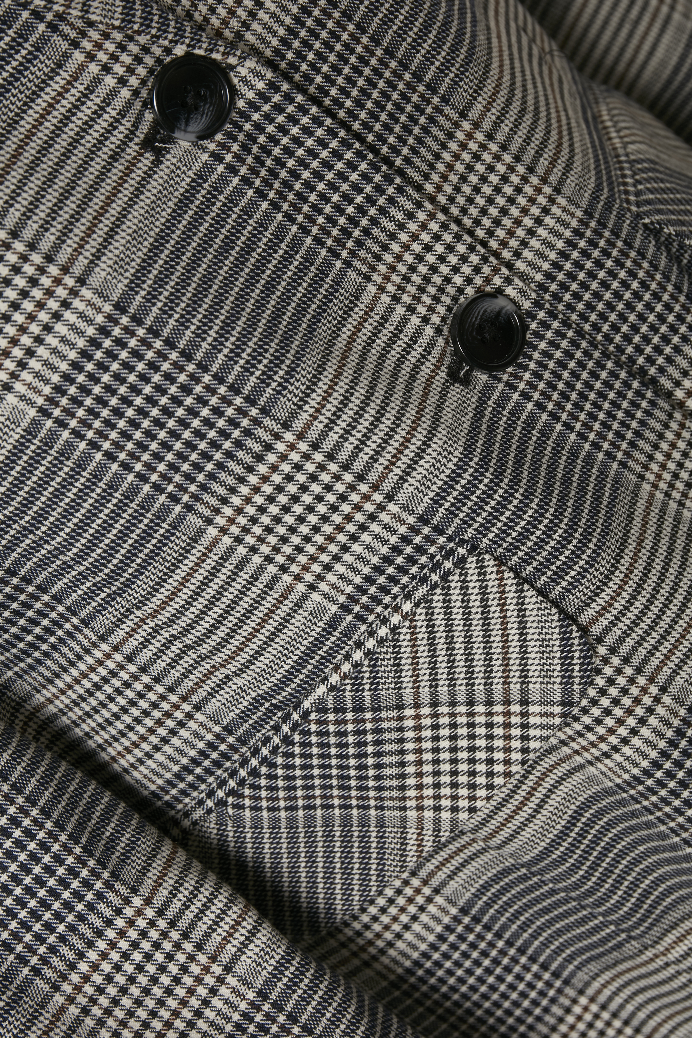 Grå/svart Blazer från Kaffe – Köp Grå/svart Blazer från stl. 34-46 här