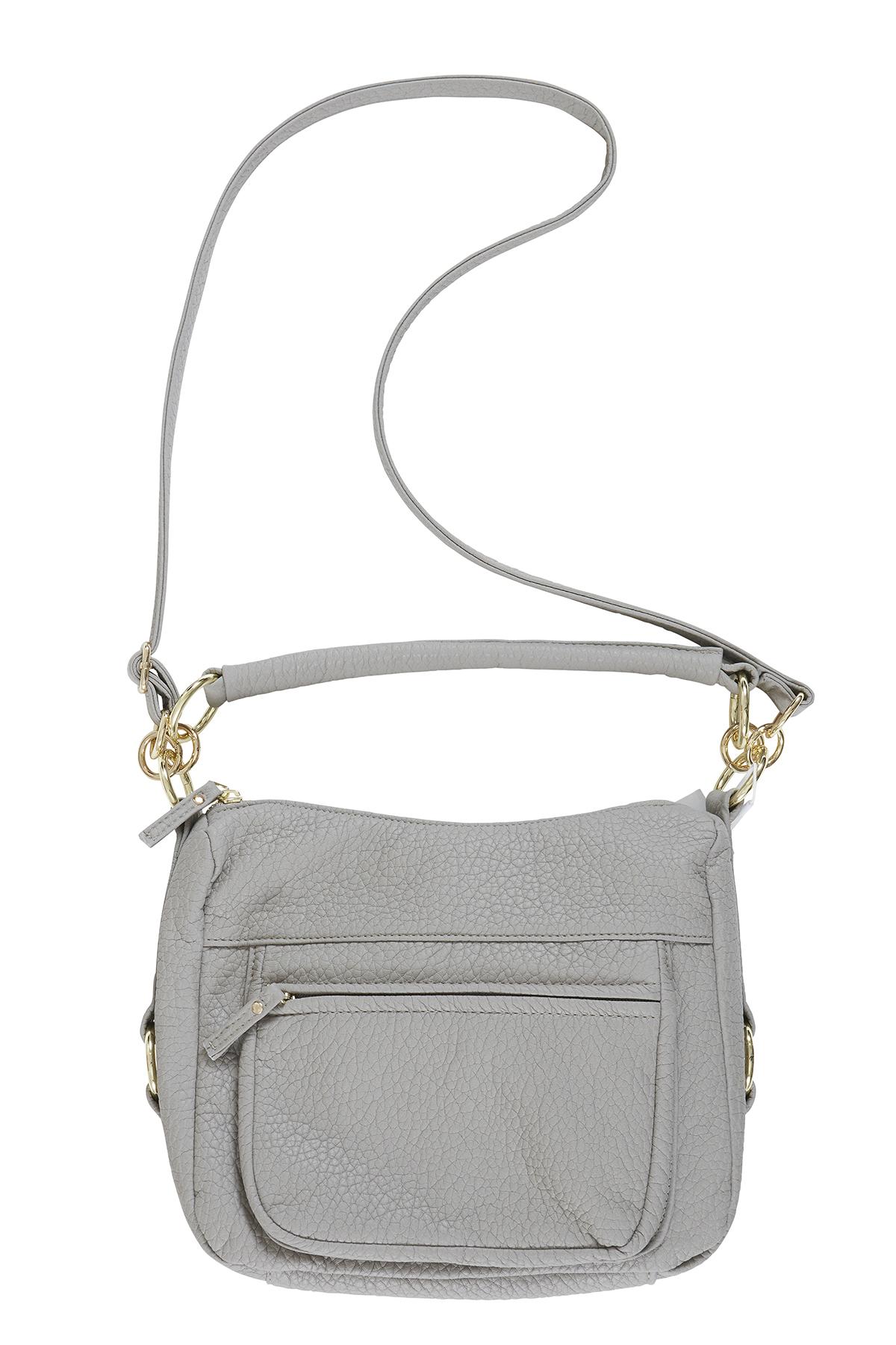Image of   Ichi - accessories Dame Taske - Grå