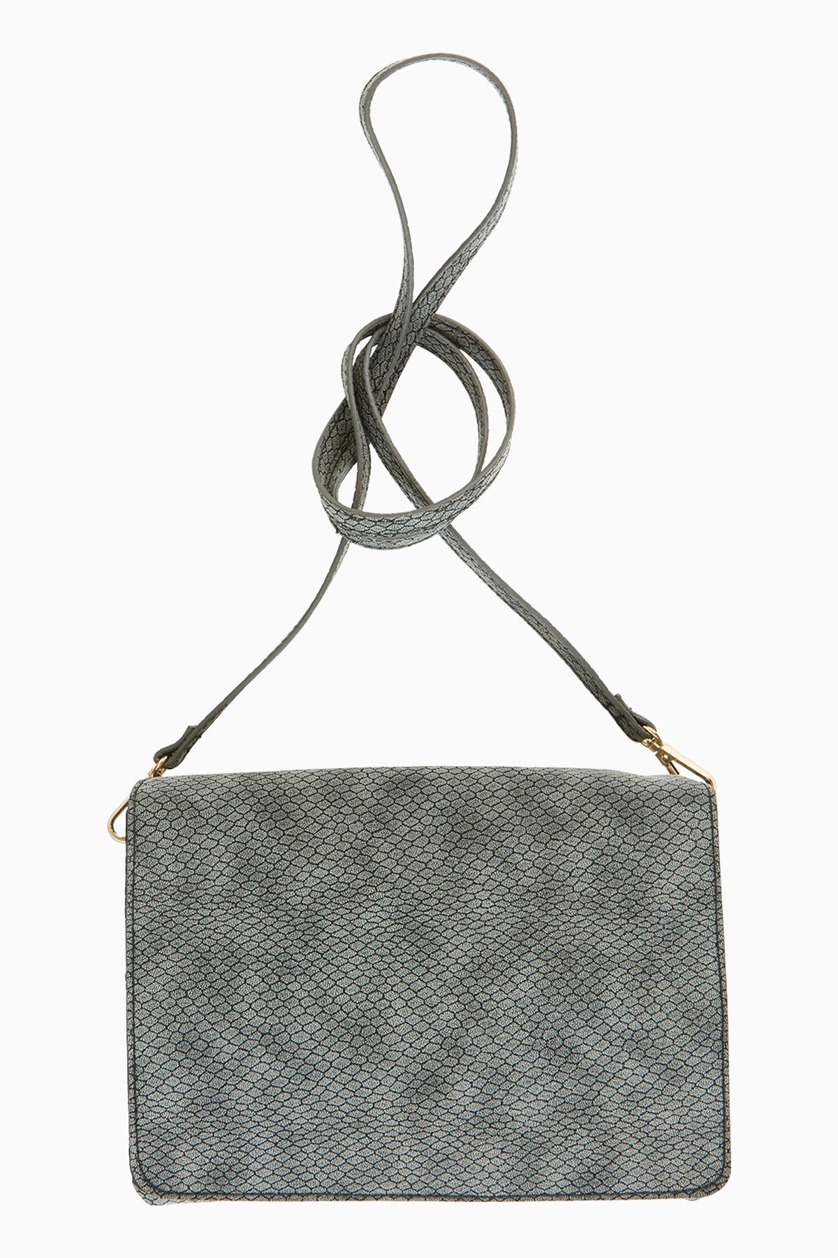 Image of   Ichi - accessories Dame Fin London taske - Grå