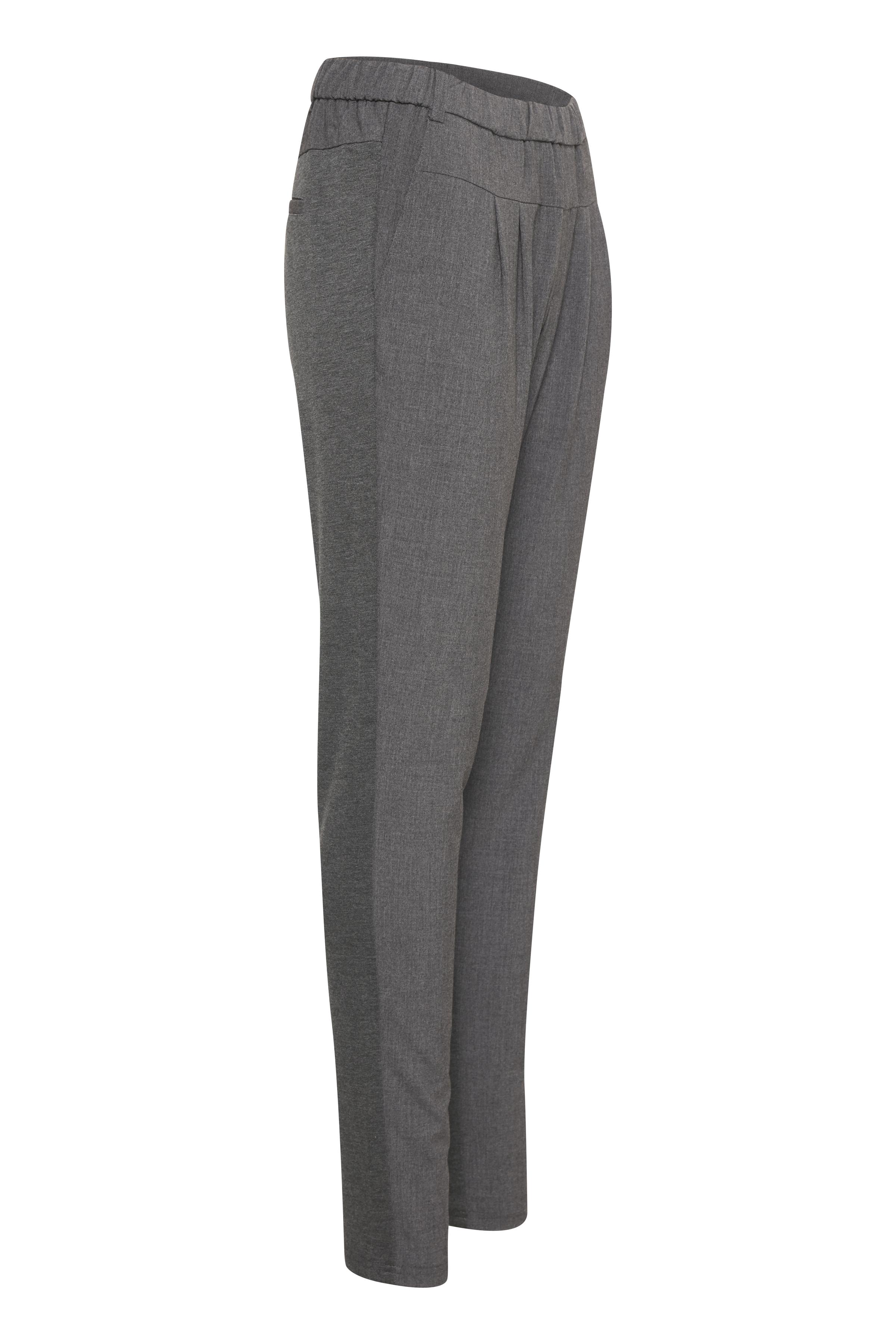 Gråmelerad Casual byxor från Culture – Köp Gråmelerad Casual byxor från stl. XS-XXL här