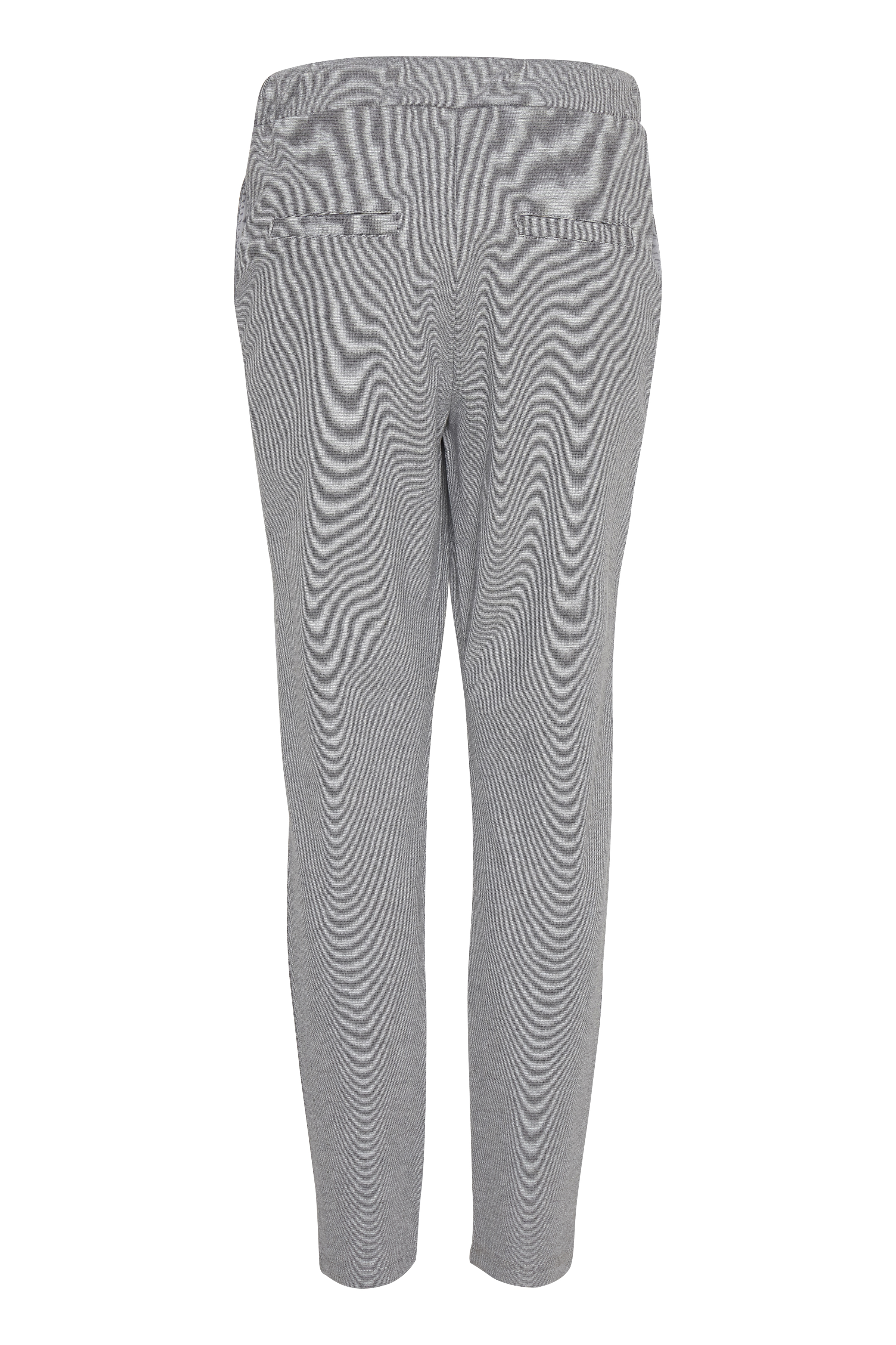 Gråmeleret Casual bukser fra Fransa – Køb Gråmeleret Casual bukser fra str. XS-XXL her