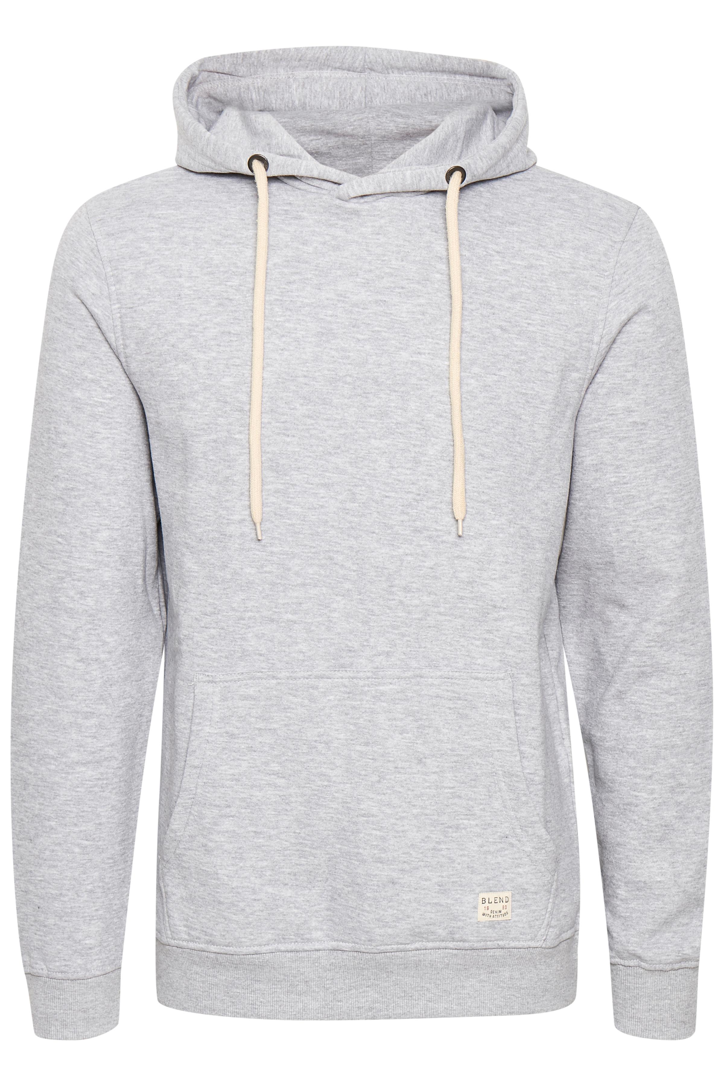 Blend He Herre Langærmet sweatshirt - Gråmeleret
