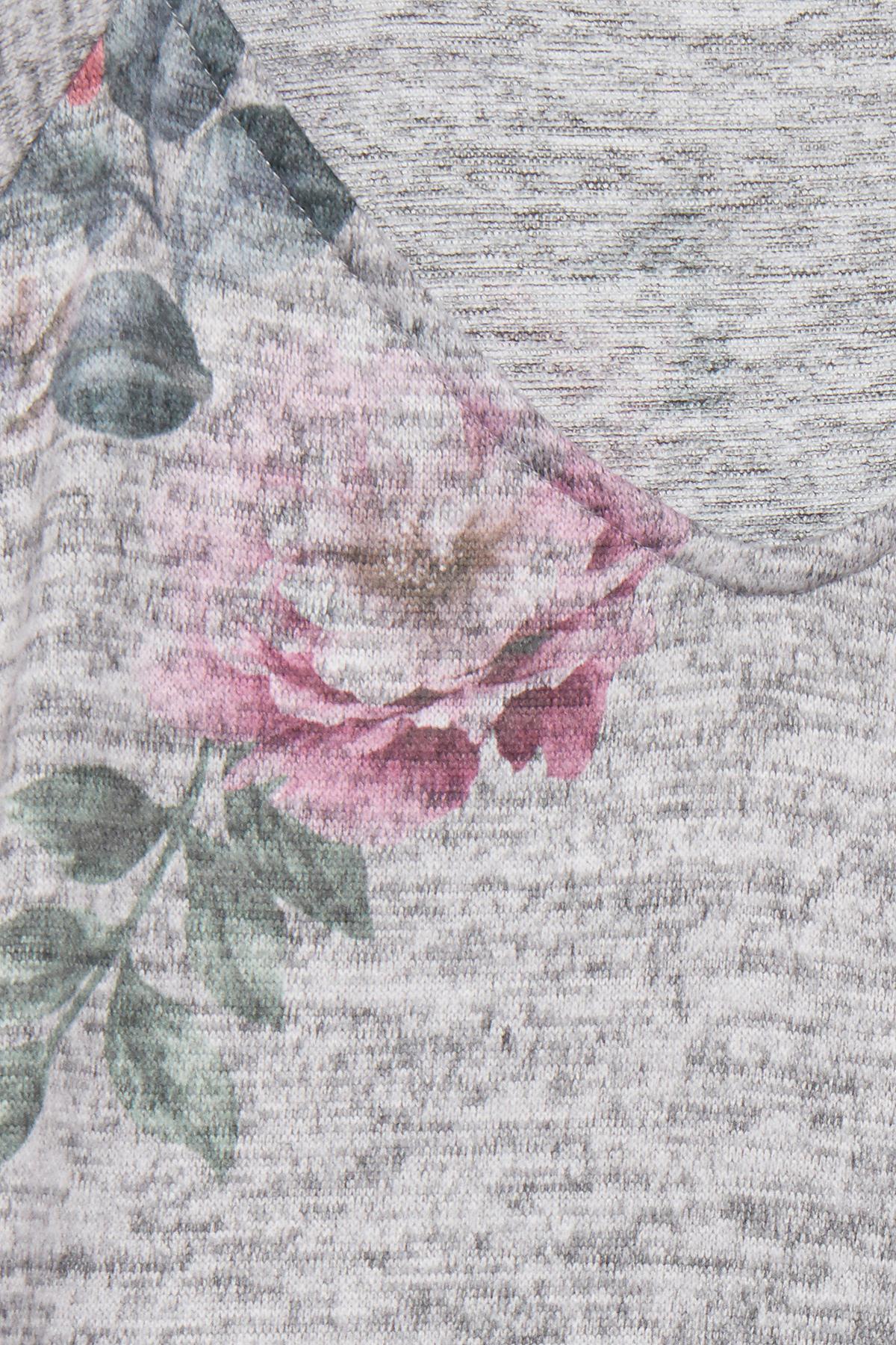 Gråmeleret Kortærmet T-shirt fra b.young – Køb Gråmeleret Kortærmet T-shirt fra str. XS-XXL her