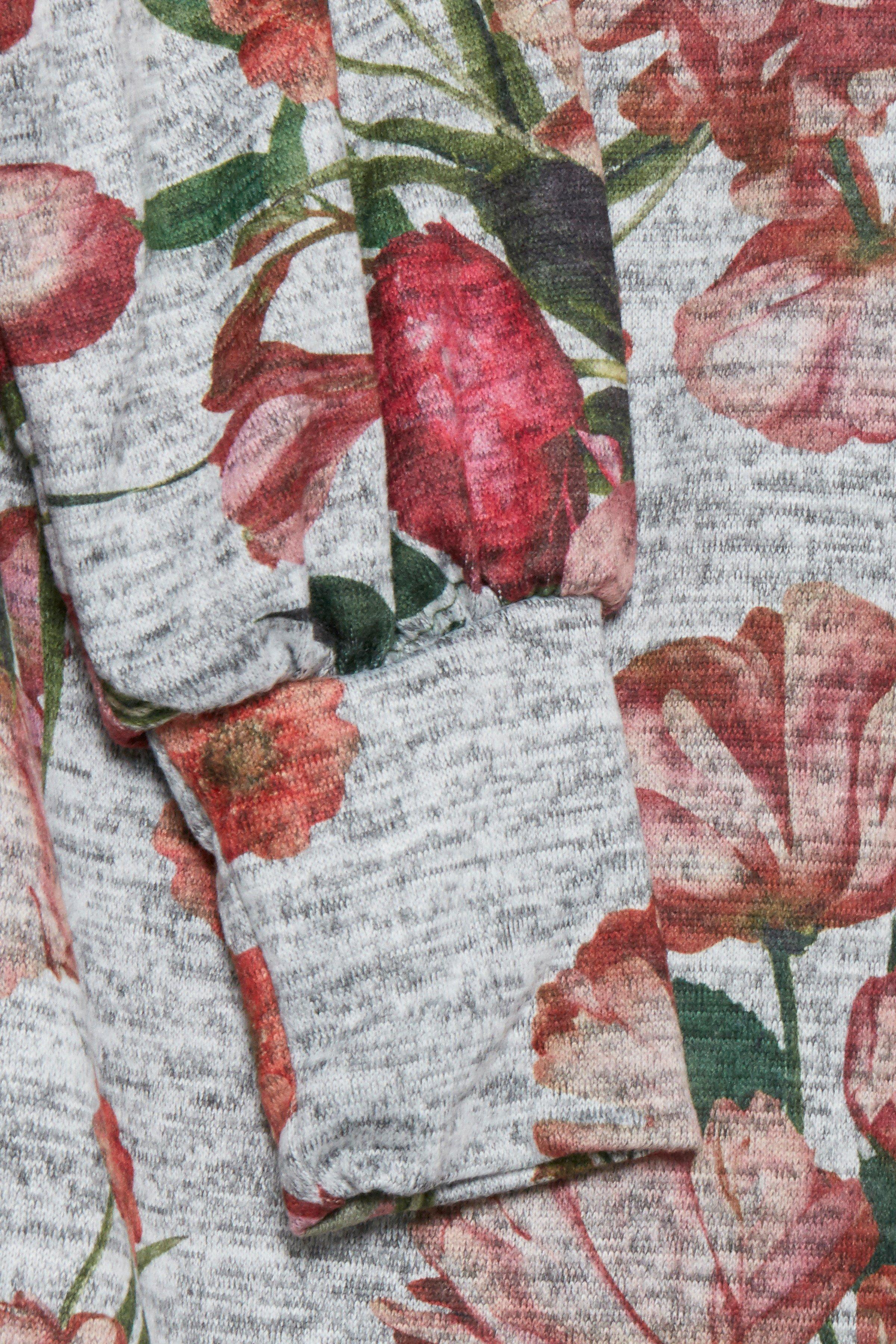 Gråmeleret/rød Kjole fra b.young – Køb Gråmeleret/rød Kjole fra str. XS-XXL her